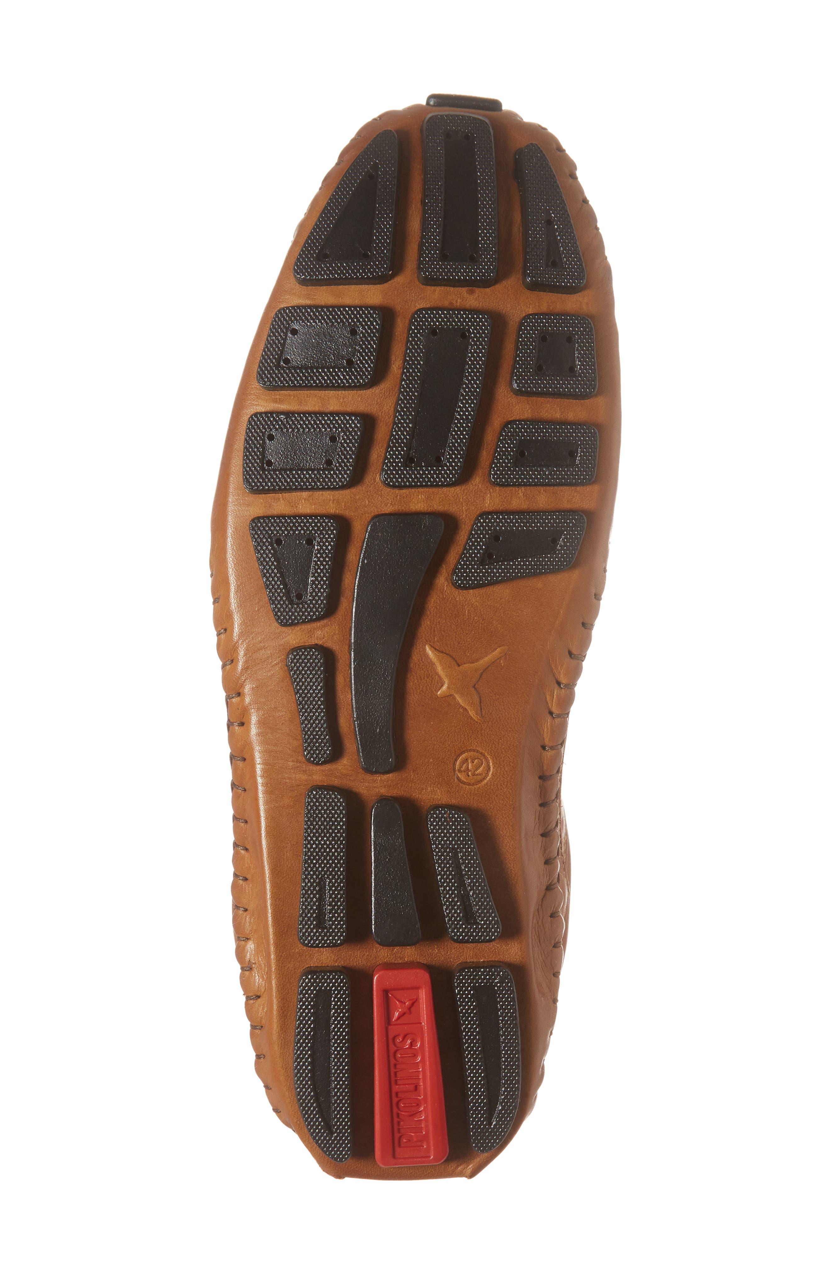 'Fuencarral' Driving Shoe,                             Alternate thumbnail 6, color,                             Light Brown