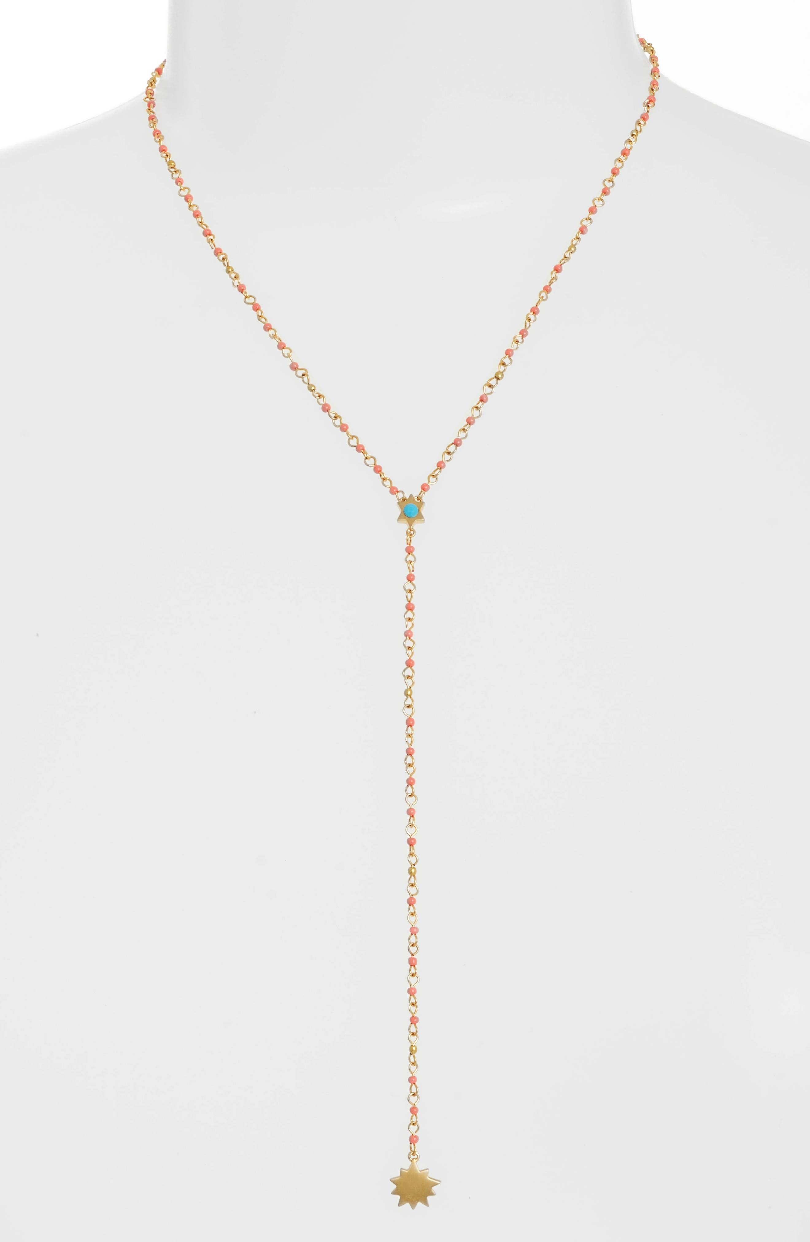 Rebecca Minkoff Sole Beaded Y-Necklace