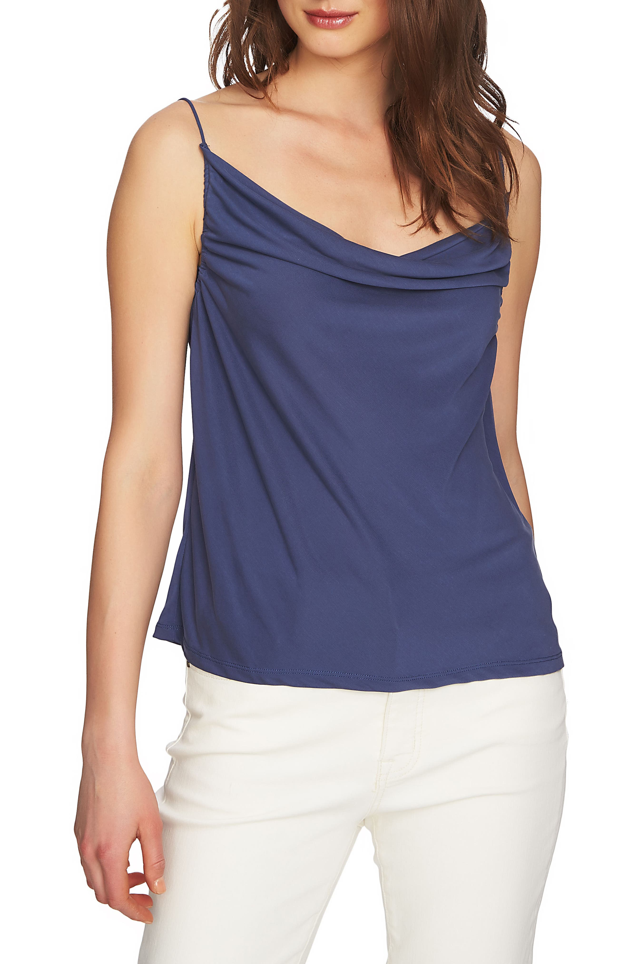 Cowl Neck Camisole,                         Main,                         color, Moon Shade