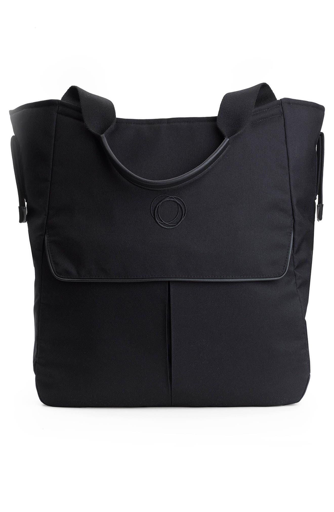 Mammoth Stroller Organizer Bag,                             Alternate thumbnail 6, color,                             Black