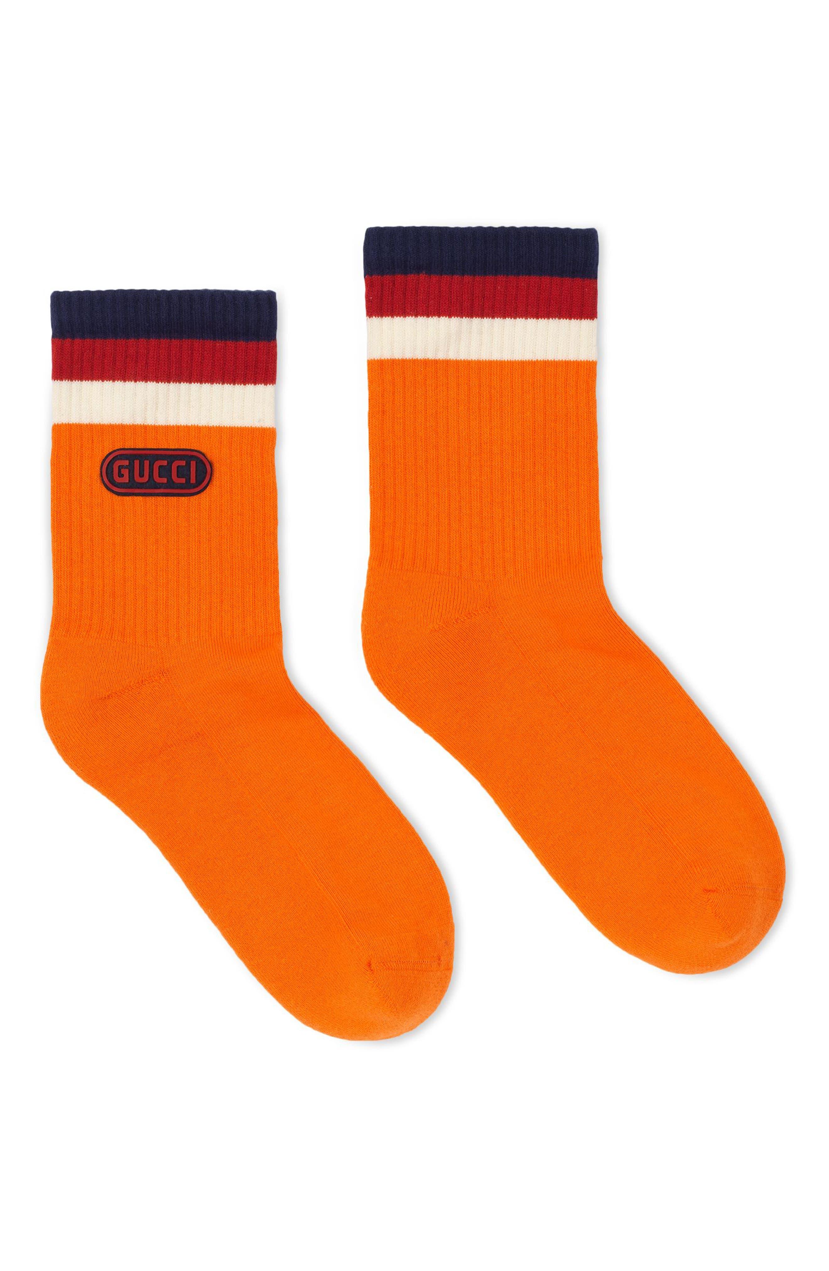 Gucci Logo Stamp Socks