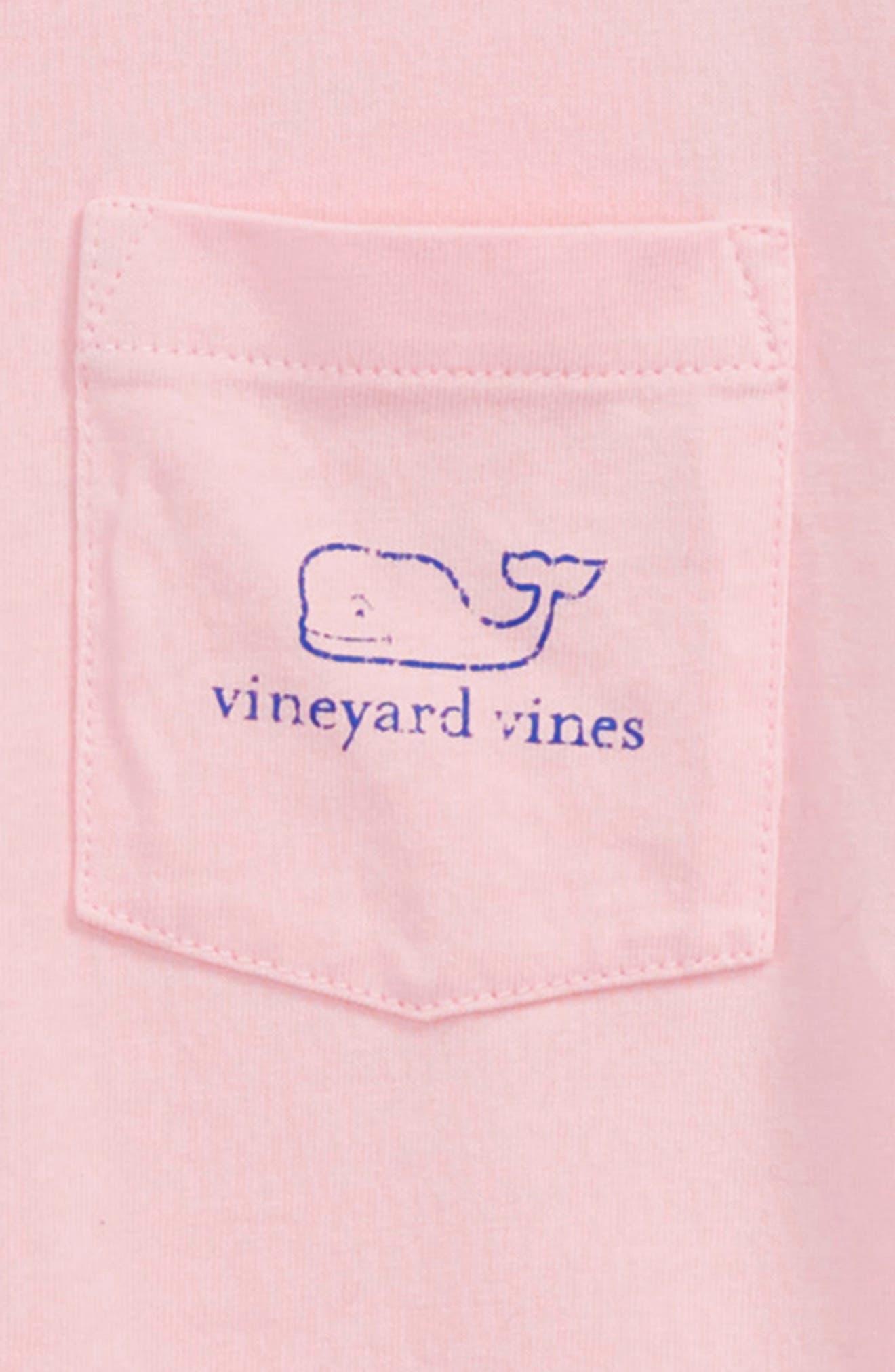 Whale T-Shirt,                             Alternate thumbnail 3, color,                             Flamingo