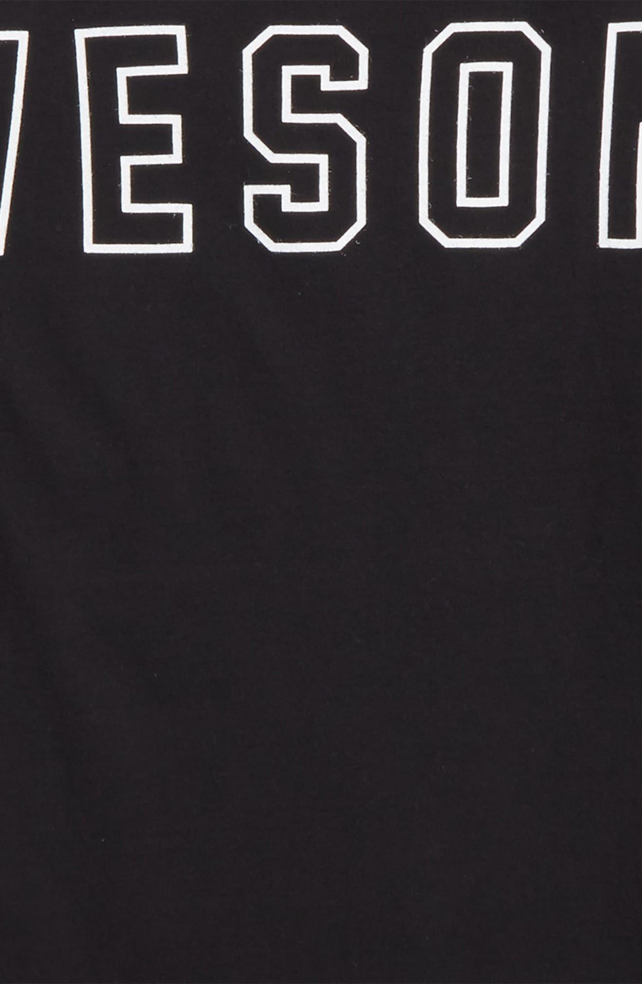 Dixon Awesome Organic Cotton T-Shirt,                             Alternate thumbnail 2, color,                             Black