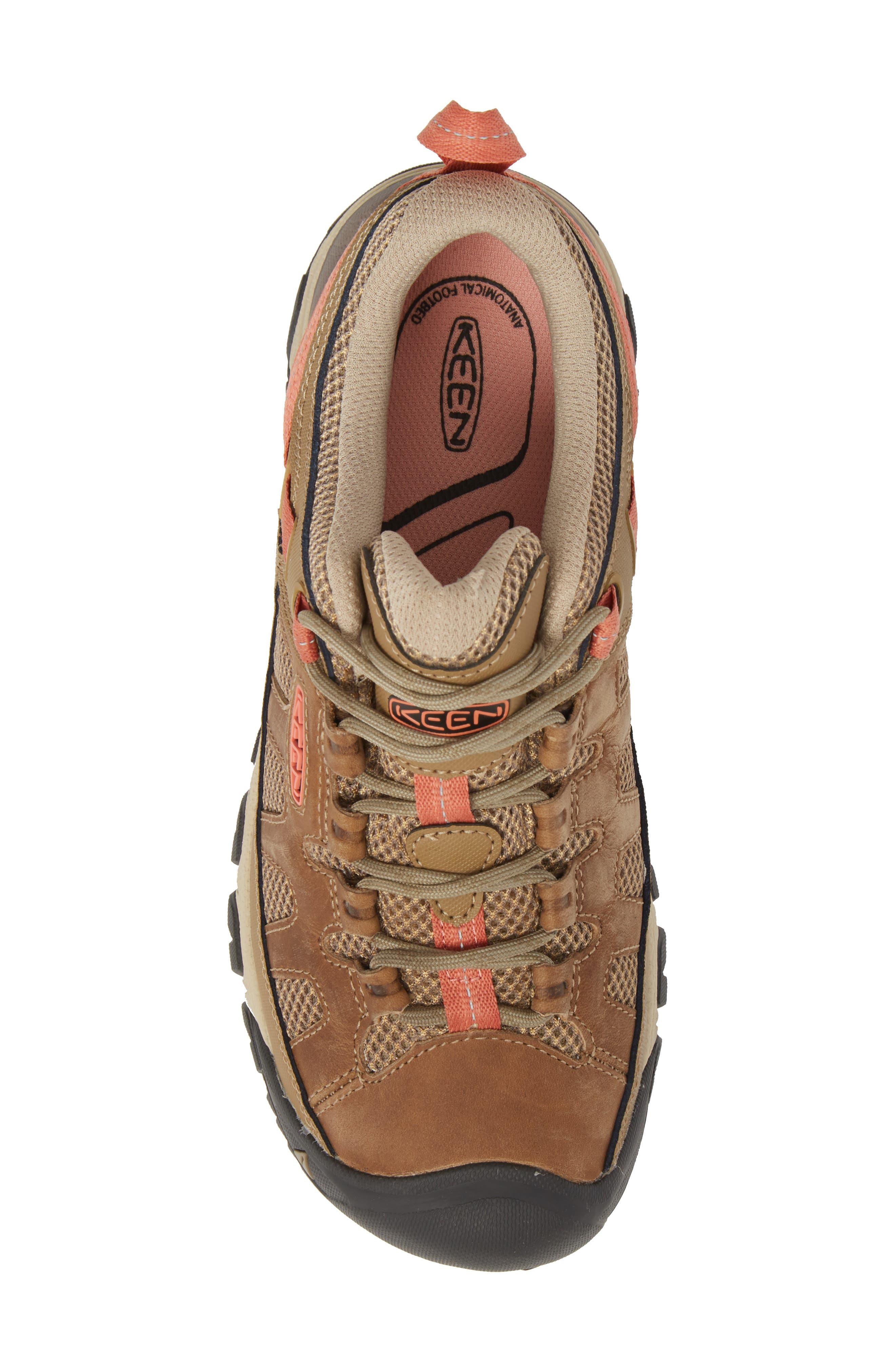 Targhee Vent Hiking Shoe,                             Alternate thumbnail 5, color,                             Sandy/ Cornstalk Leather