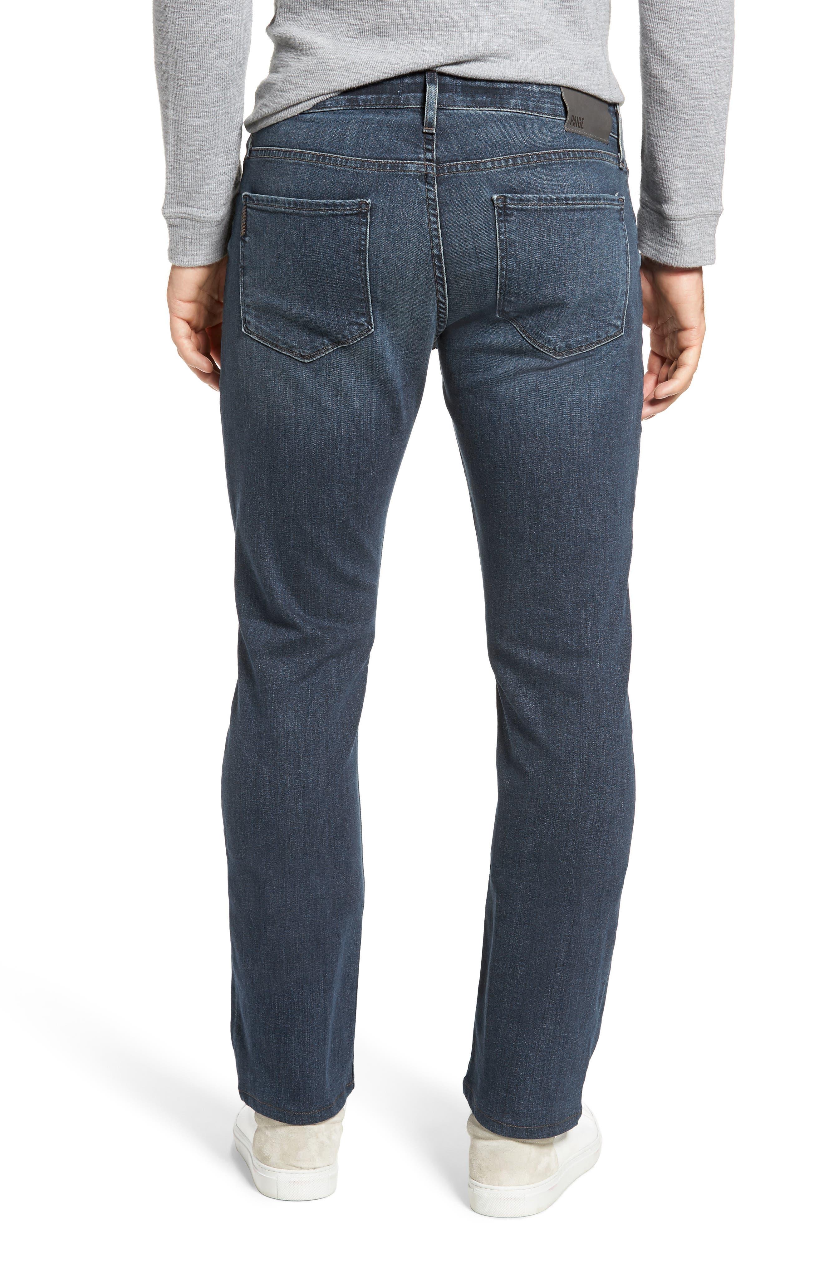 Normandie Straight Leg Jeans,                             Alternate thumbnail 2, color,                             Daniels