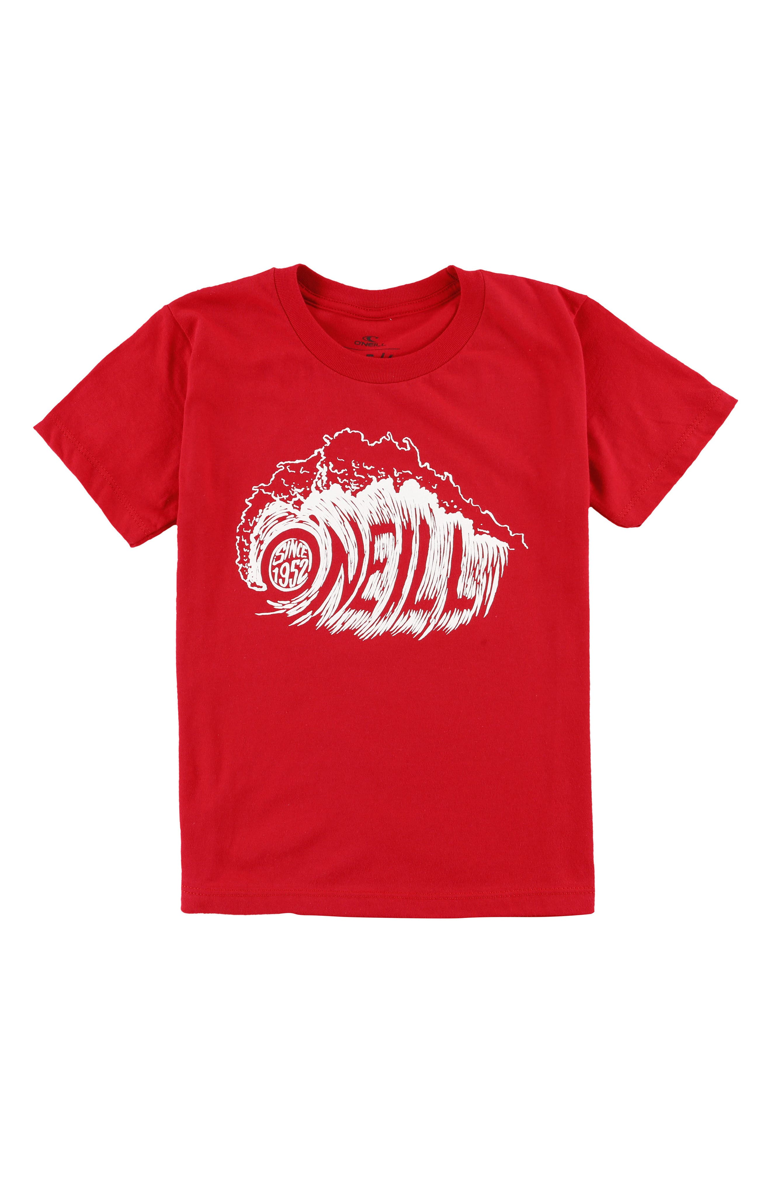 Sandspit Graphic T-Shirt,                             Main thumbnail 1, color,                             Heather Red