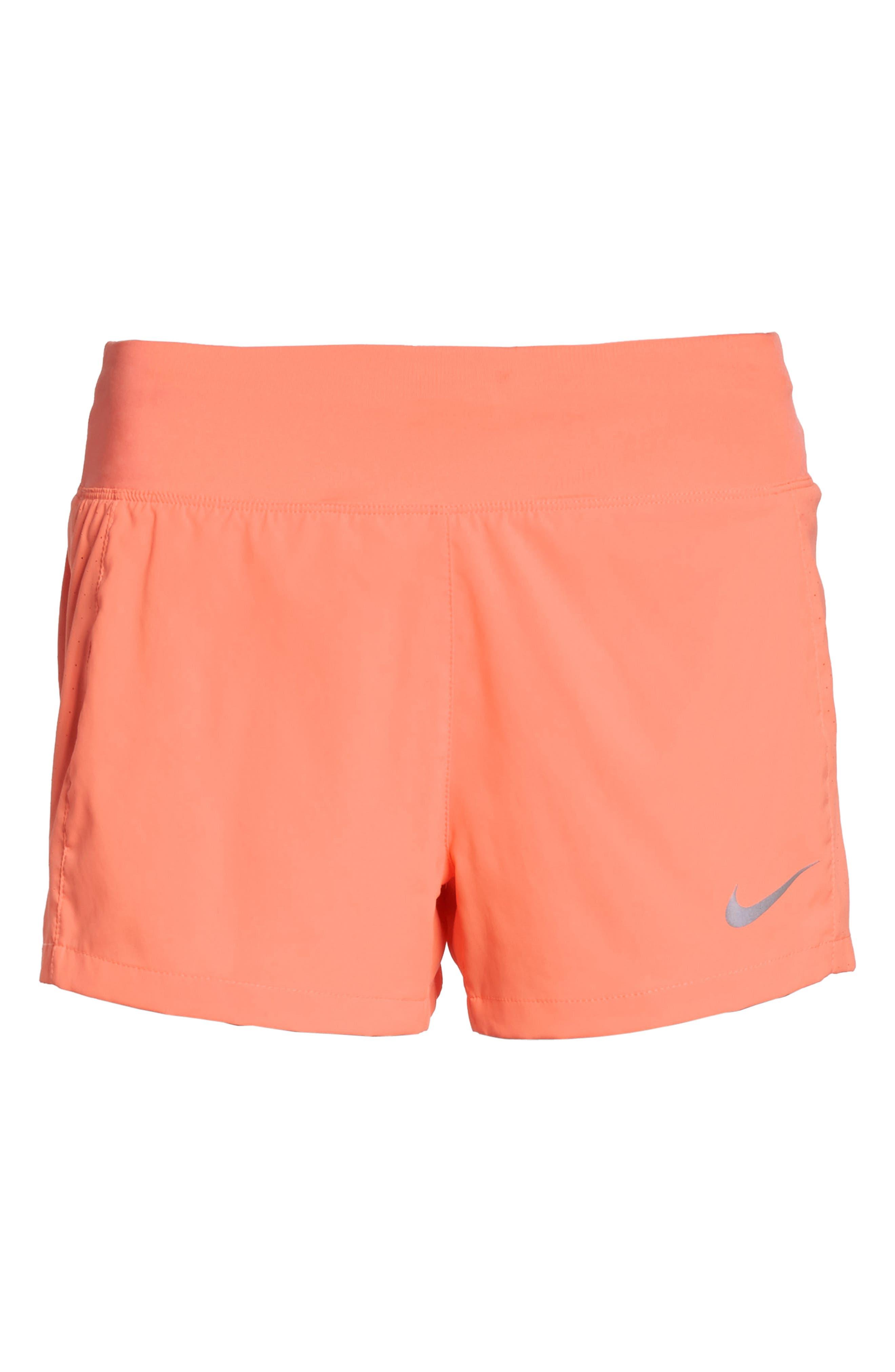 Dry Eclipse Running Shorts,                             Alternate thumbnail 7, color,                             Crimson Pulse