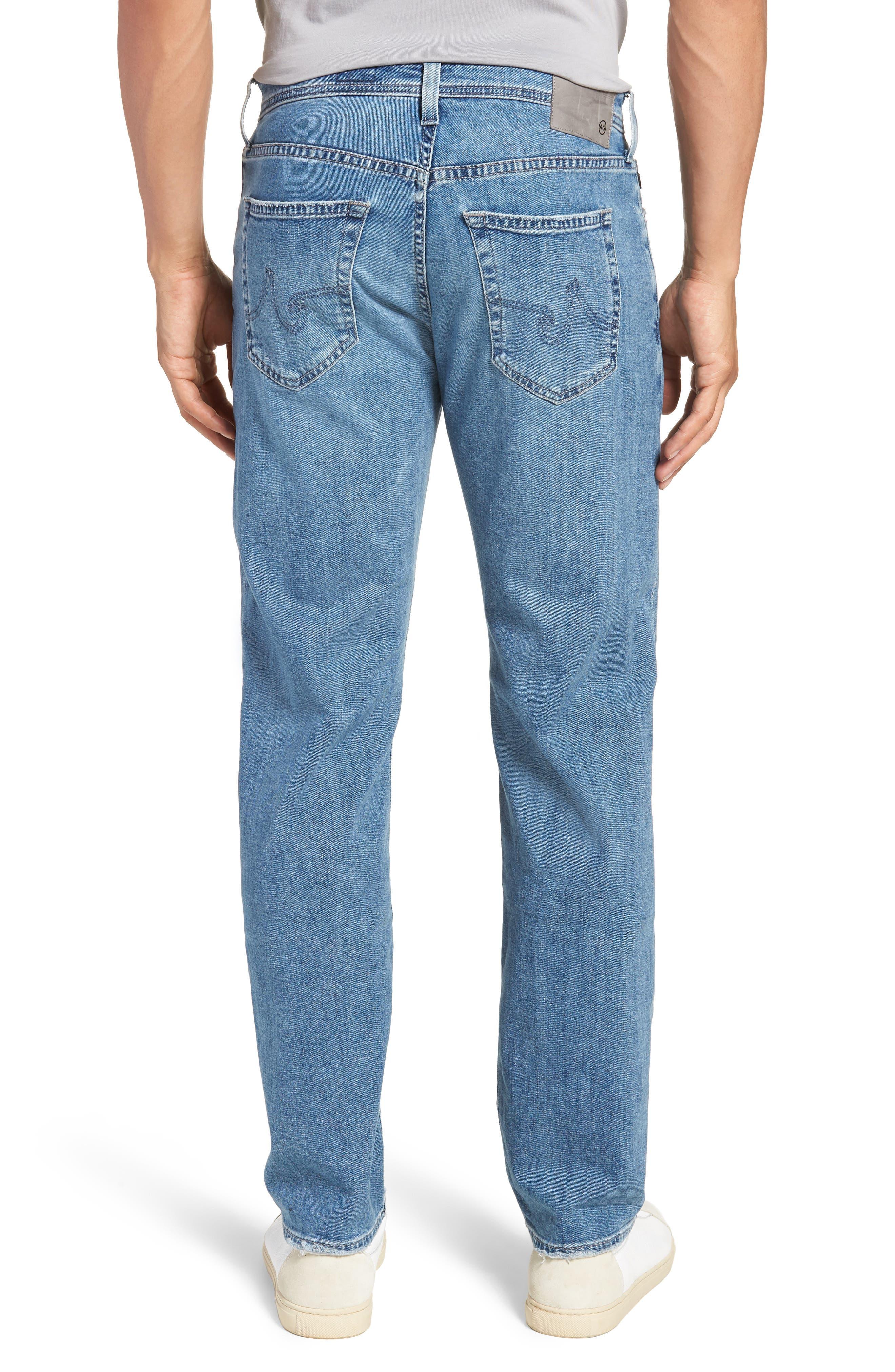 Graduate Slim Straight Leg Jeans,                             Alternate thumbnail 2, color,                             Sandpiper