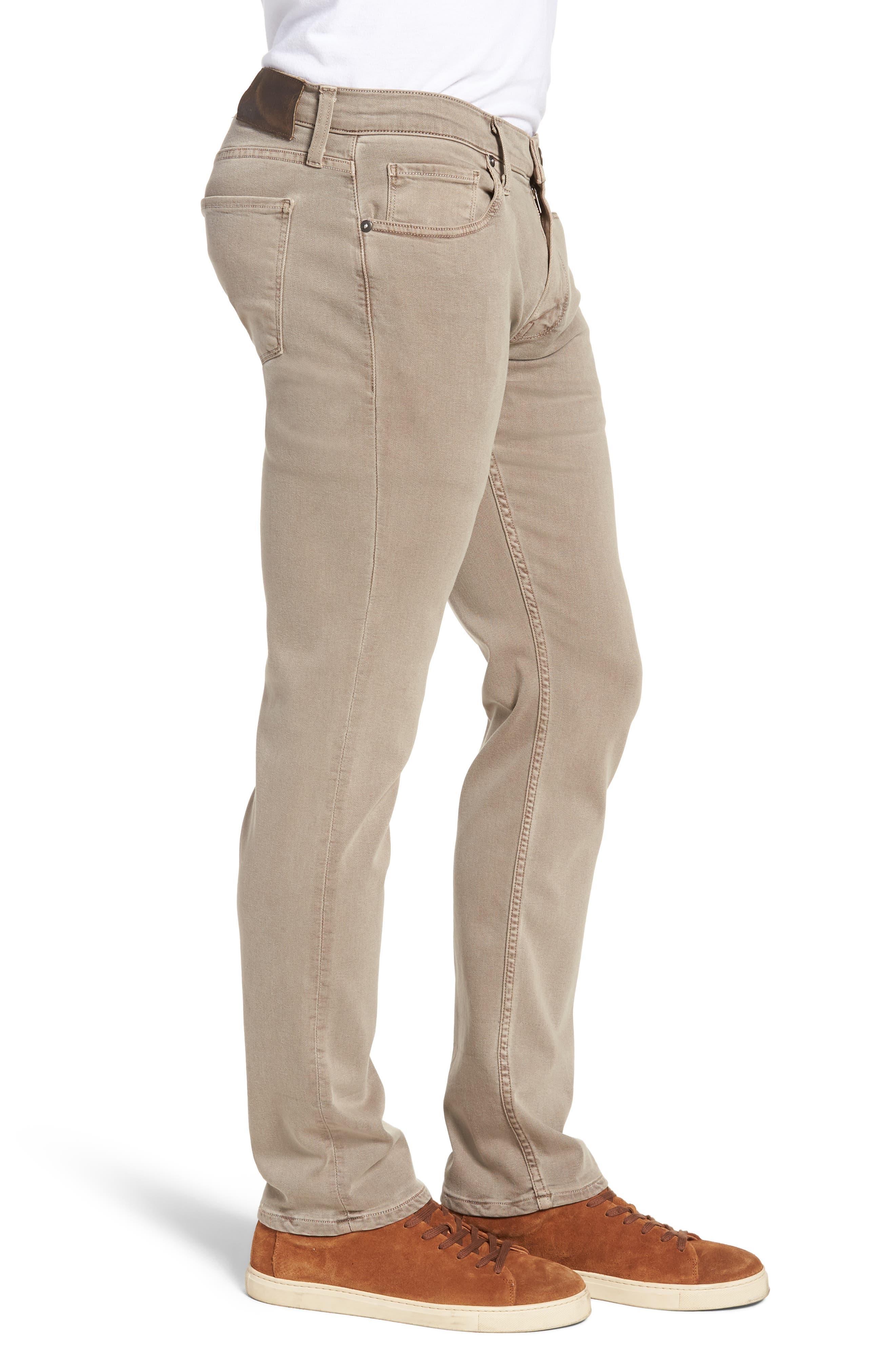 Federal Slim Straight Leg Jeans,                             Alternate thumbnail 3, color,                             Vintage Mushroom