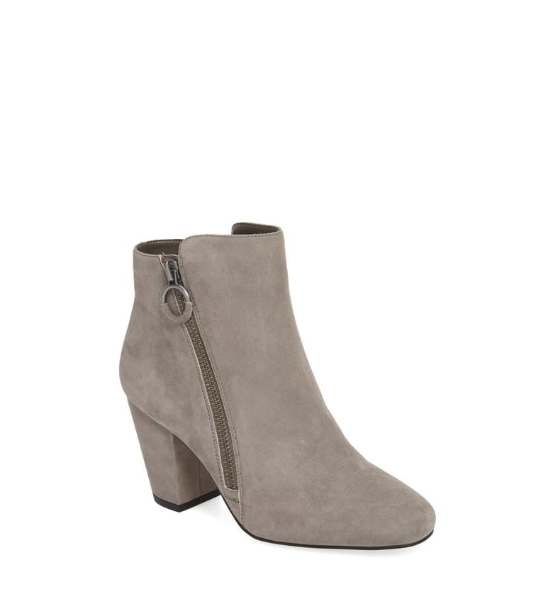 Preete Bootie, Main, color, Iron Suede