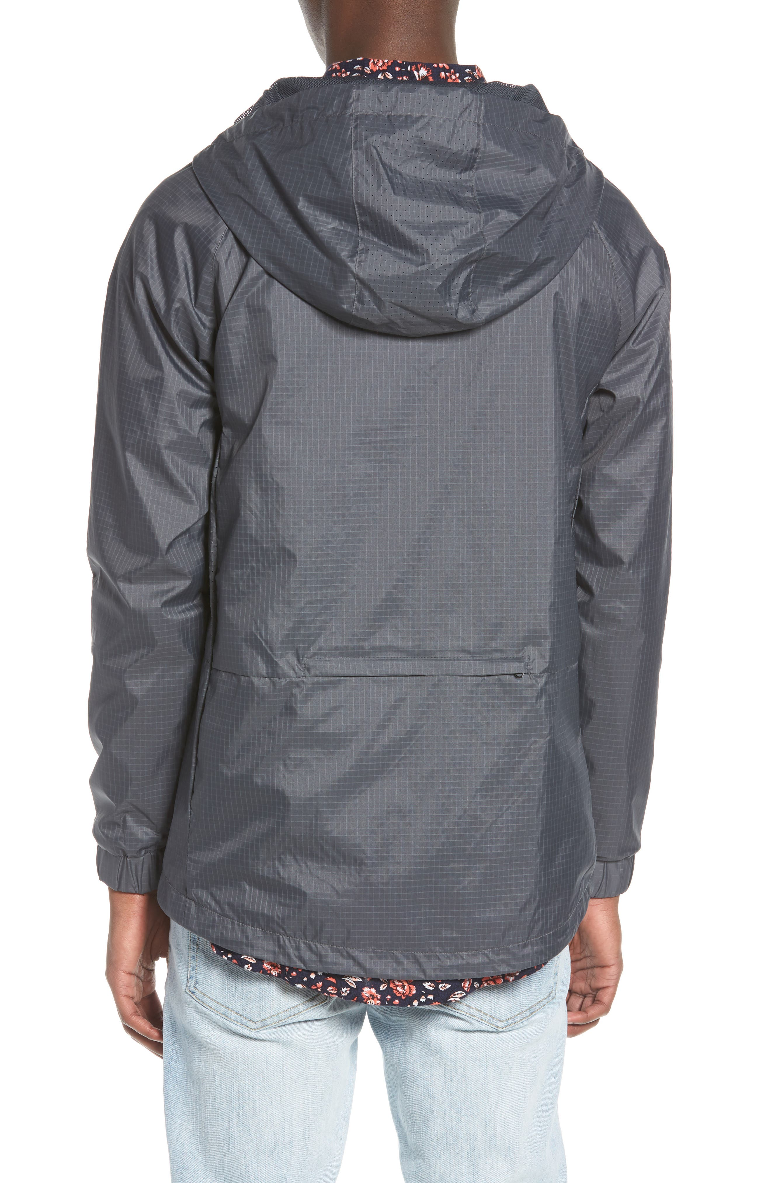 NCT Bezel Packable Anorak,                             Alternate thumbnail 2, color,                             Asphalt