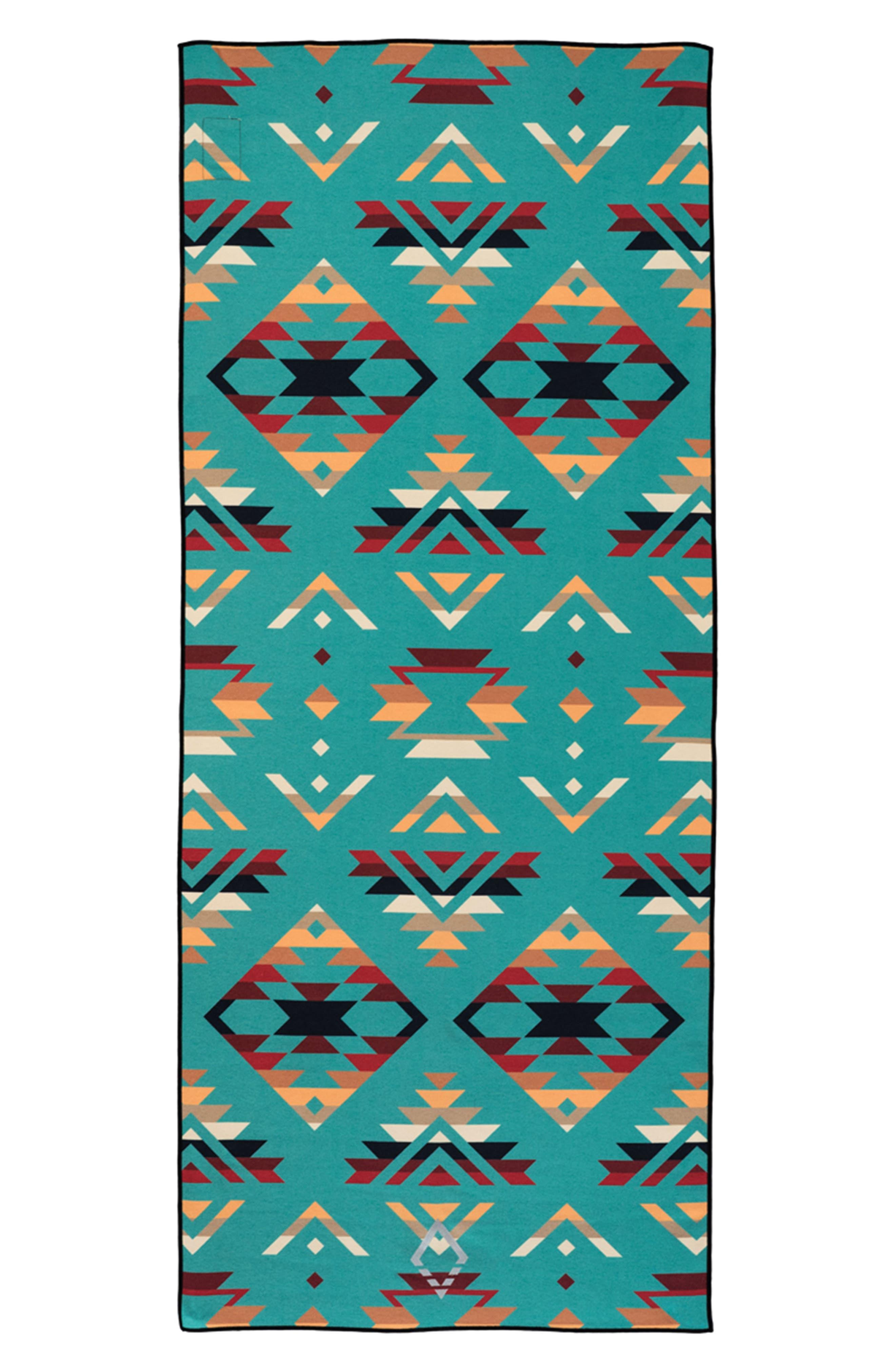 PNW Yoga Towel,                             Main thumbnail 1, color,                             High Alpine