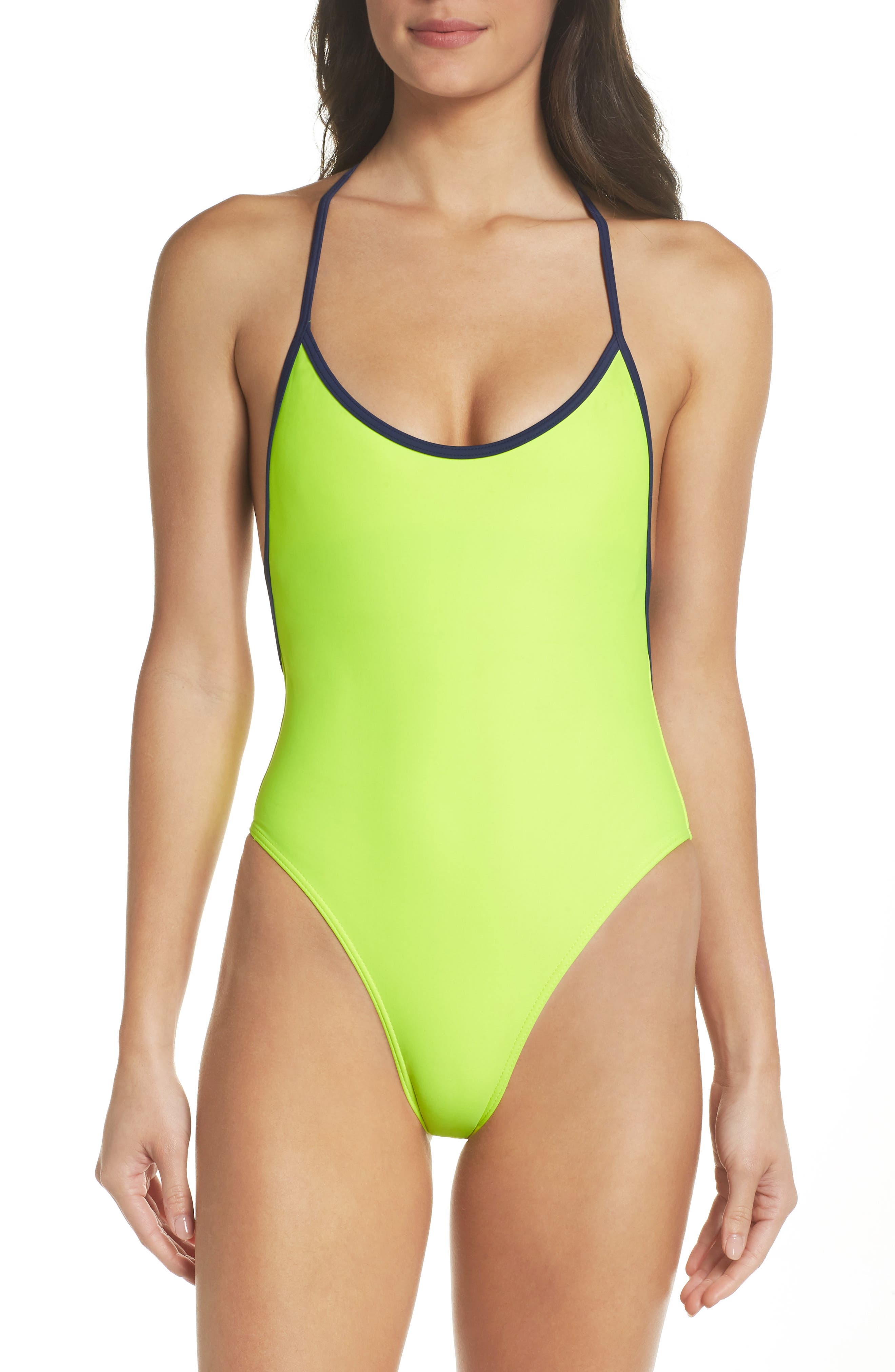 Chromat T-Suit One-Piece Swimsuit
