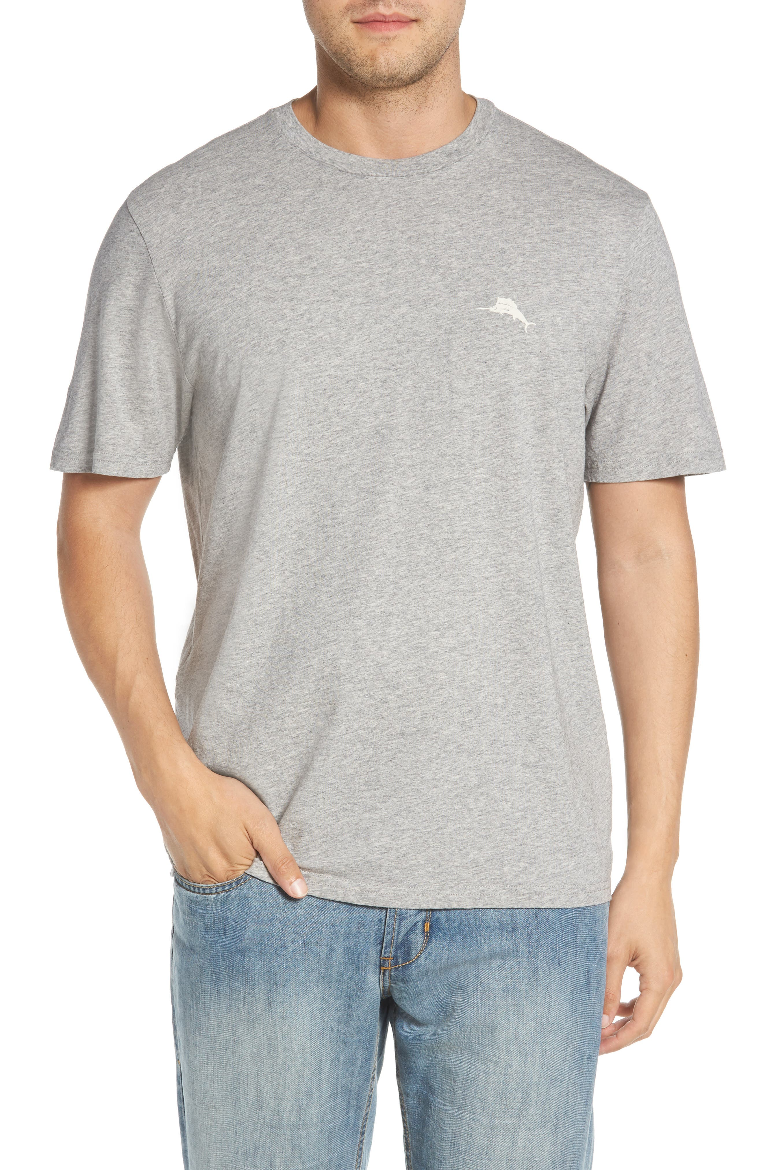 Vacation Collage T-Shirt,                             Main thumbnail 1, color,                             Grey Heather