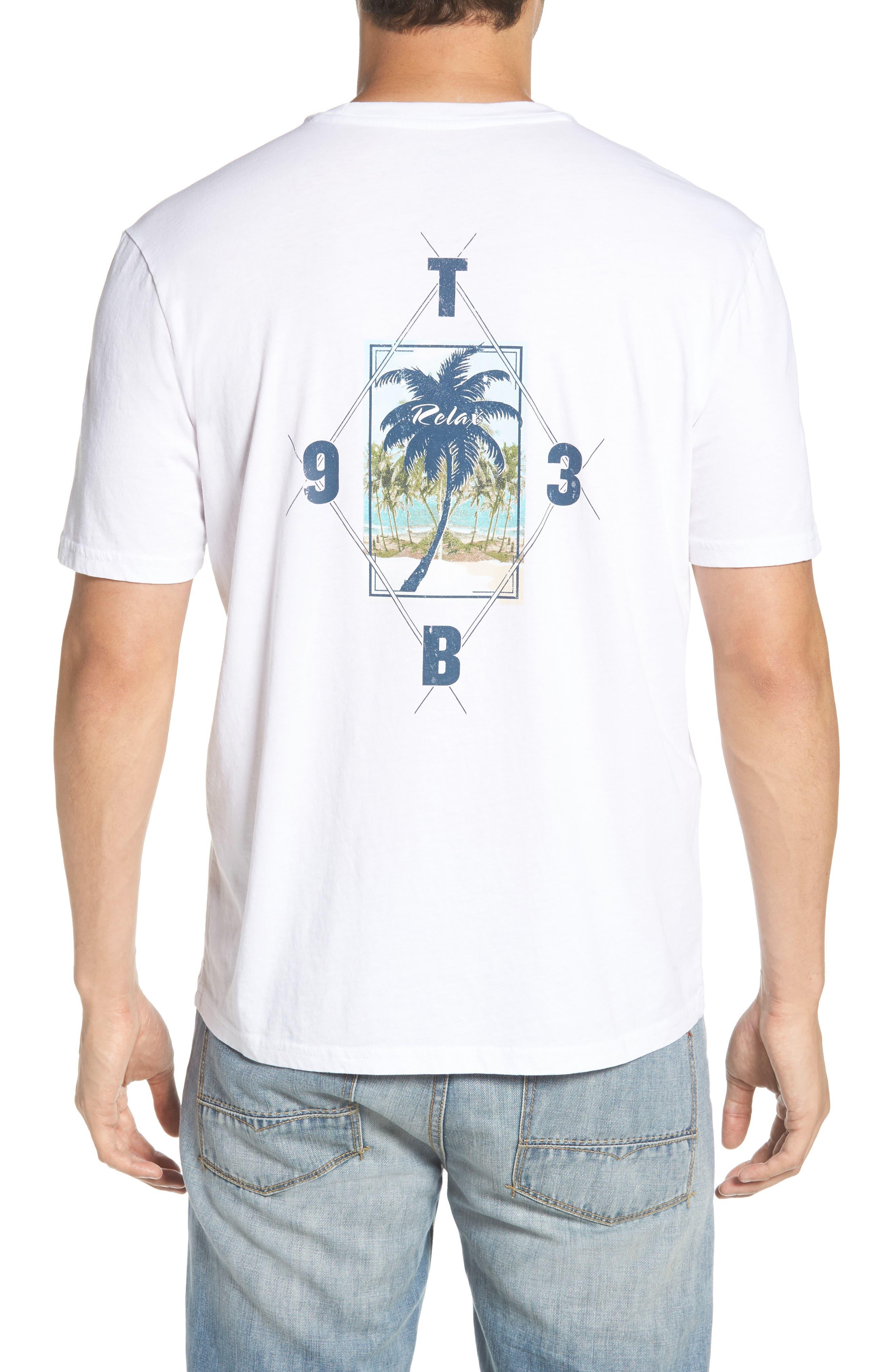 Diamond Cove T-Shirt,                             Alternate thumbnail 2, color,                             White