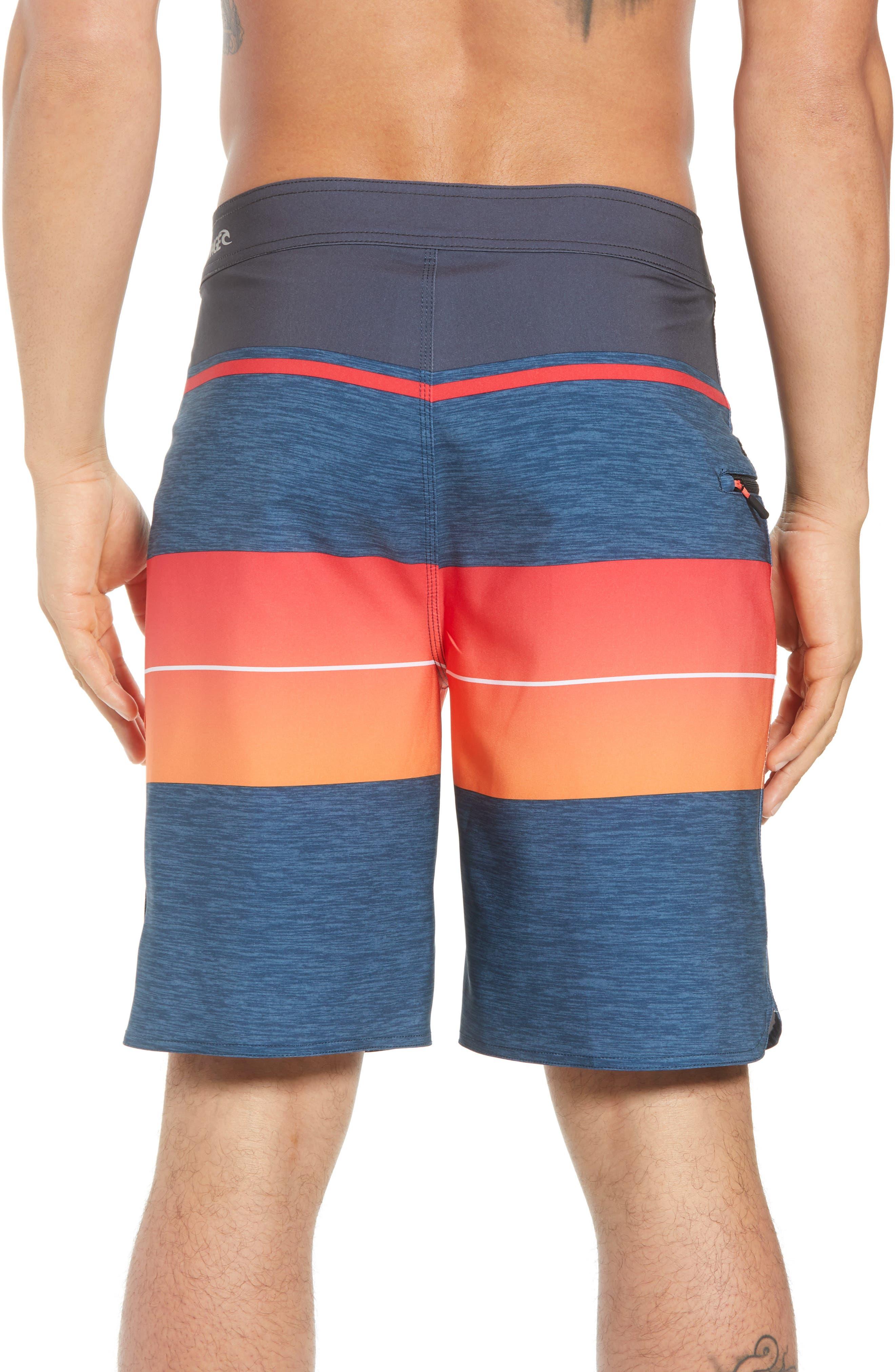 Mirage Eclipse Board Shorts,                             Alternate thumbnail 2, color,                             Orange