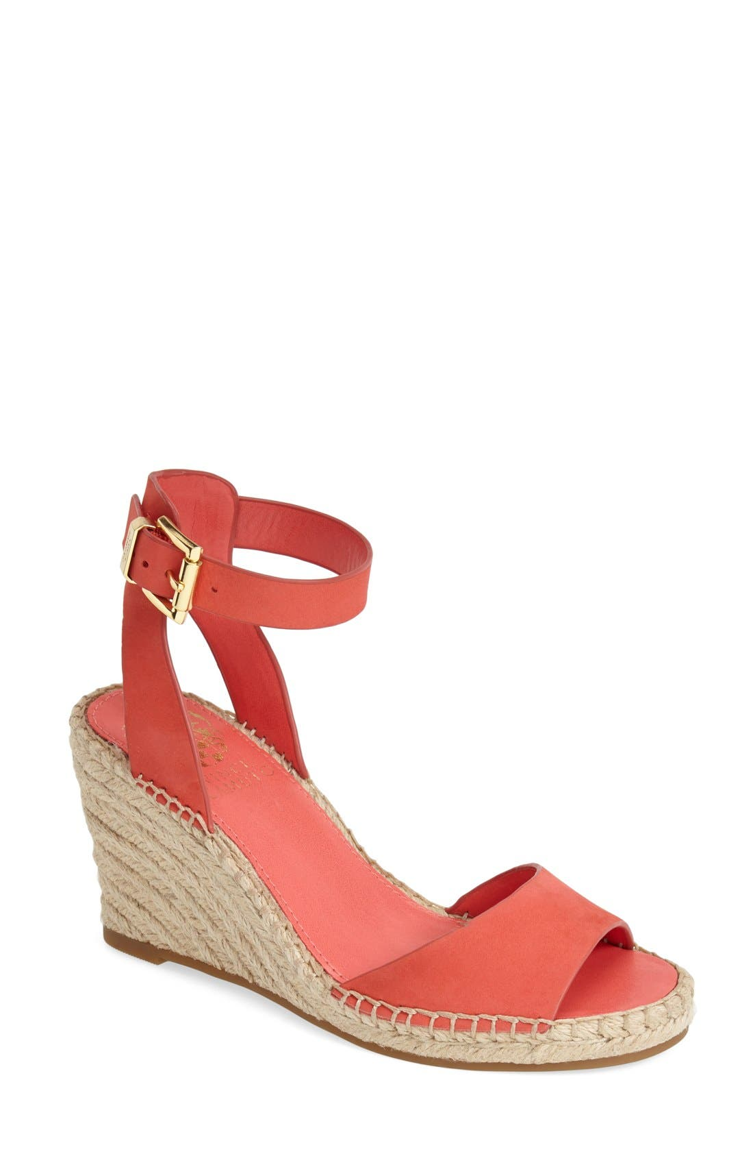 Alternate Image 1 Selected - Vince Camuto 'Tagger' Espadrille Wedge Sandal (Women)