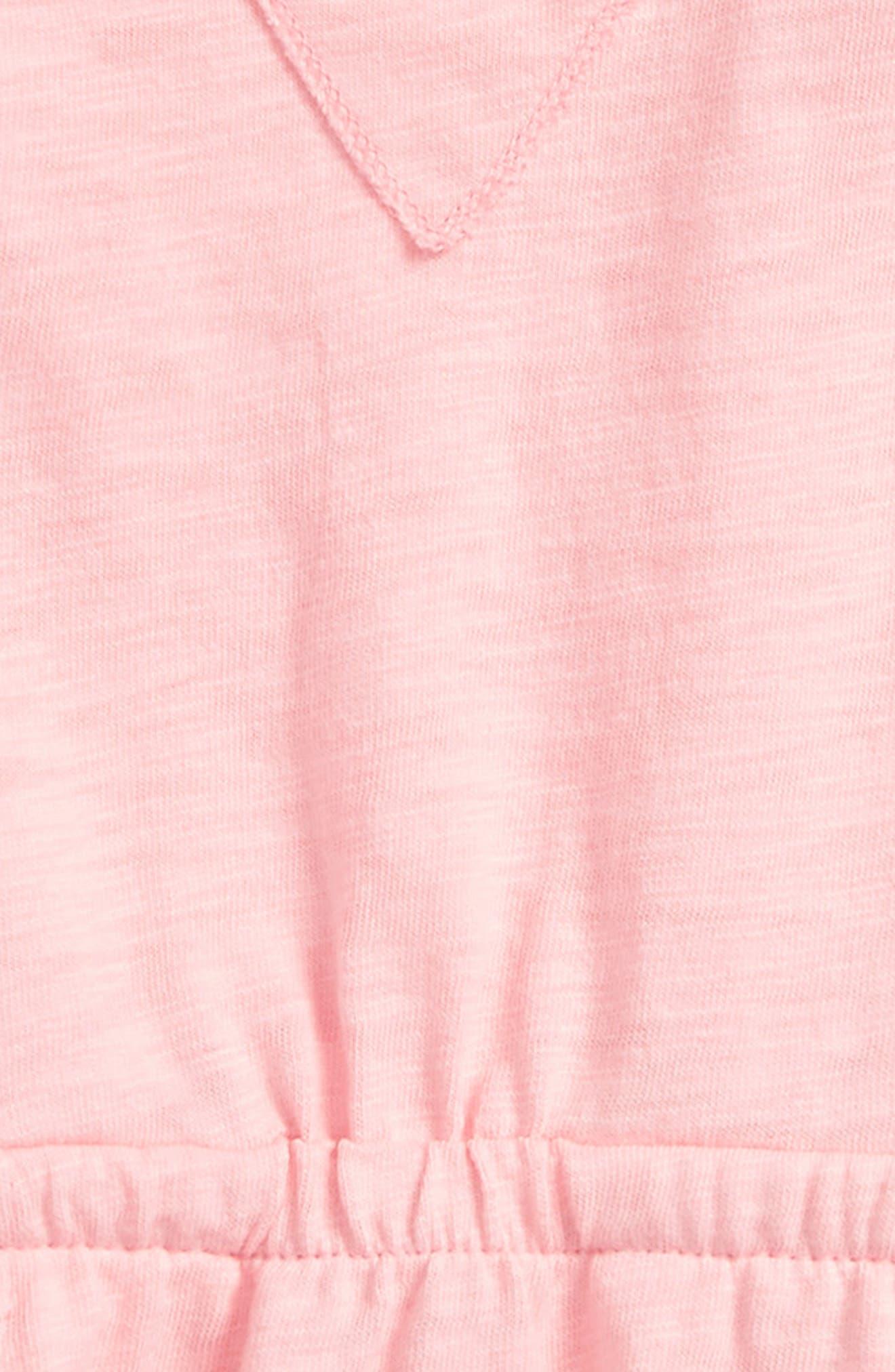 Peek Ava Romper,                             Alternate thumbnail 2, color,                             Peach