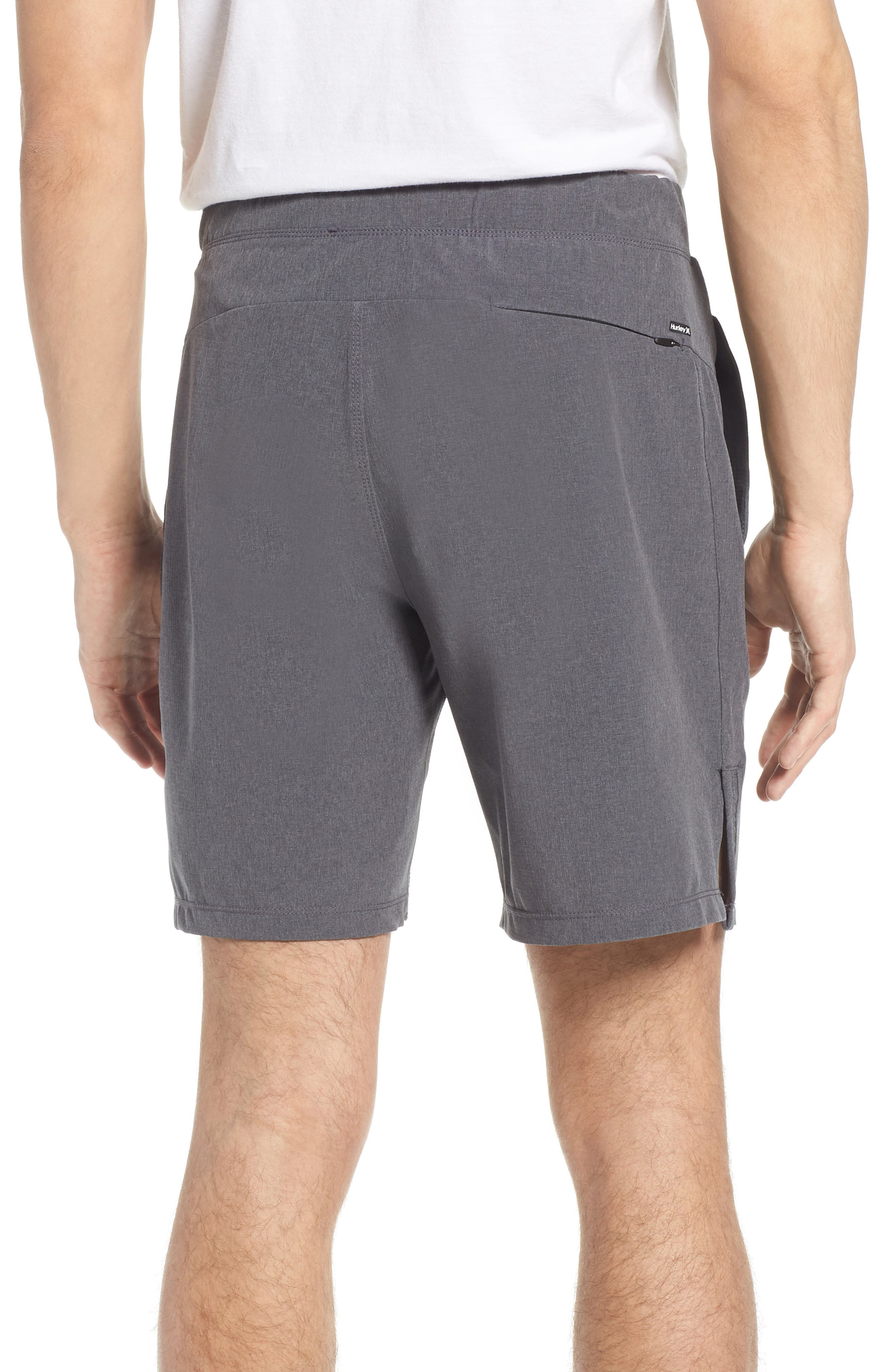 Alpha Trainer K-38 Shorts,                             Alternate thumbnail 2, color,                             Black
