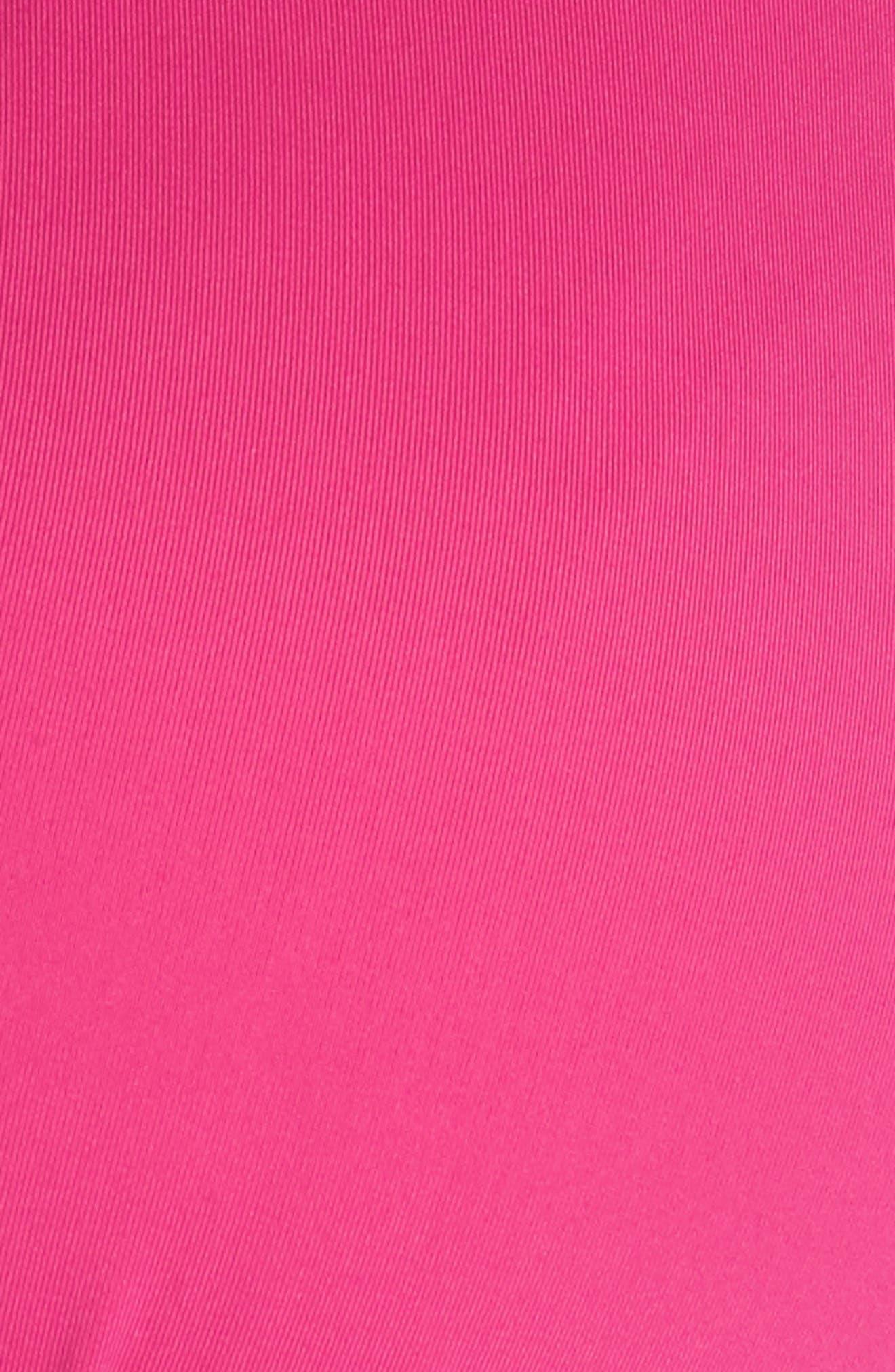Color Code Bikini Top,                             Alternate thumbnail 7, color,                             Flamingo