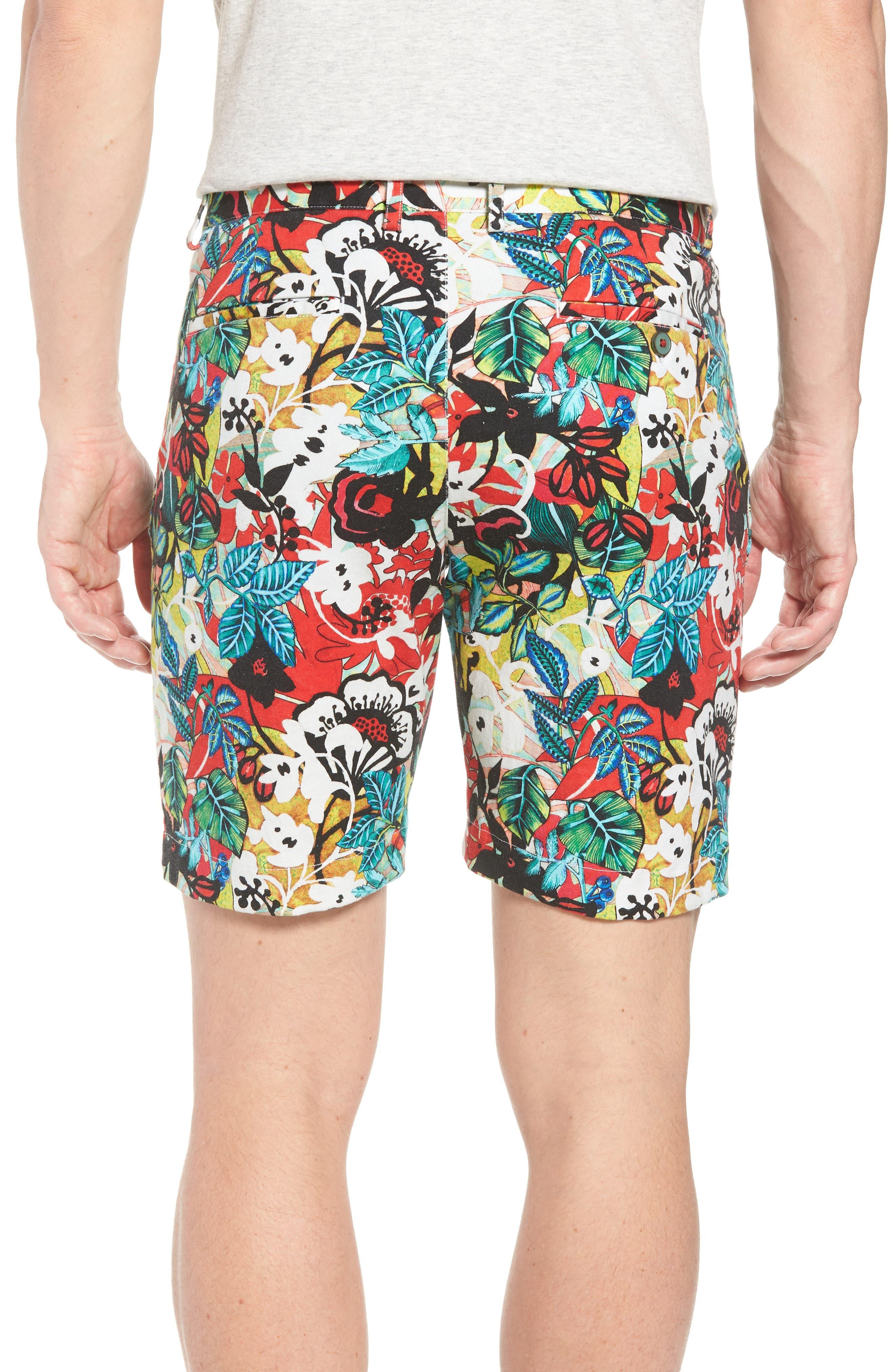 Habana Classic Fit Woven Shorts,                             Alternate thumbnail 2, color,                             Multi