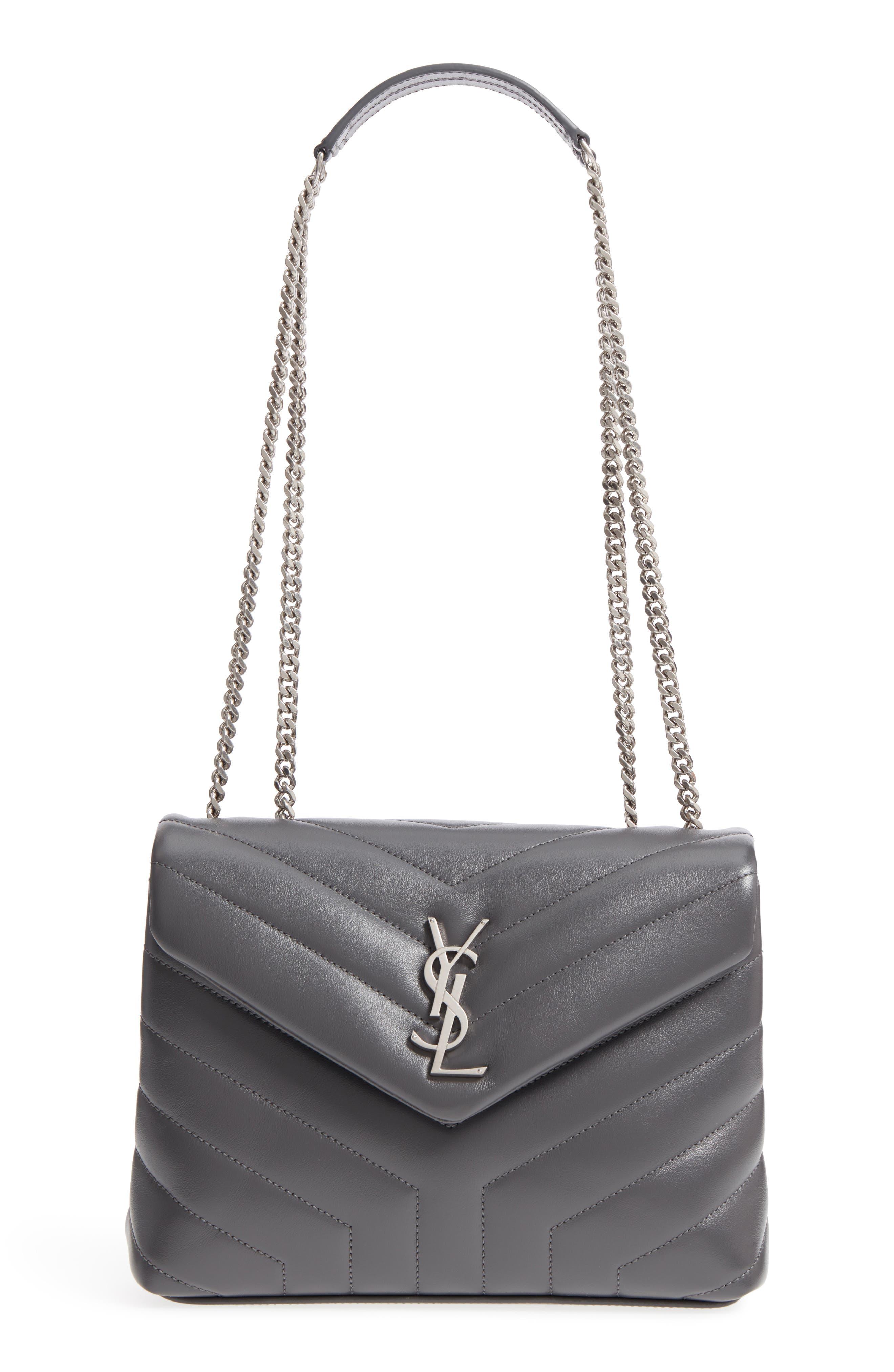Saint Laurent Small Loulou Matelassé Leather Shoulder Bag