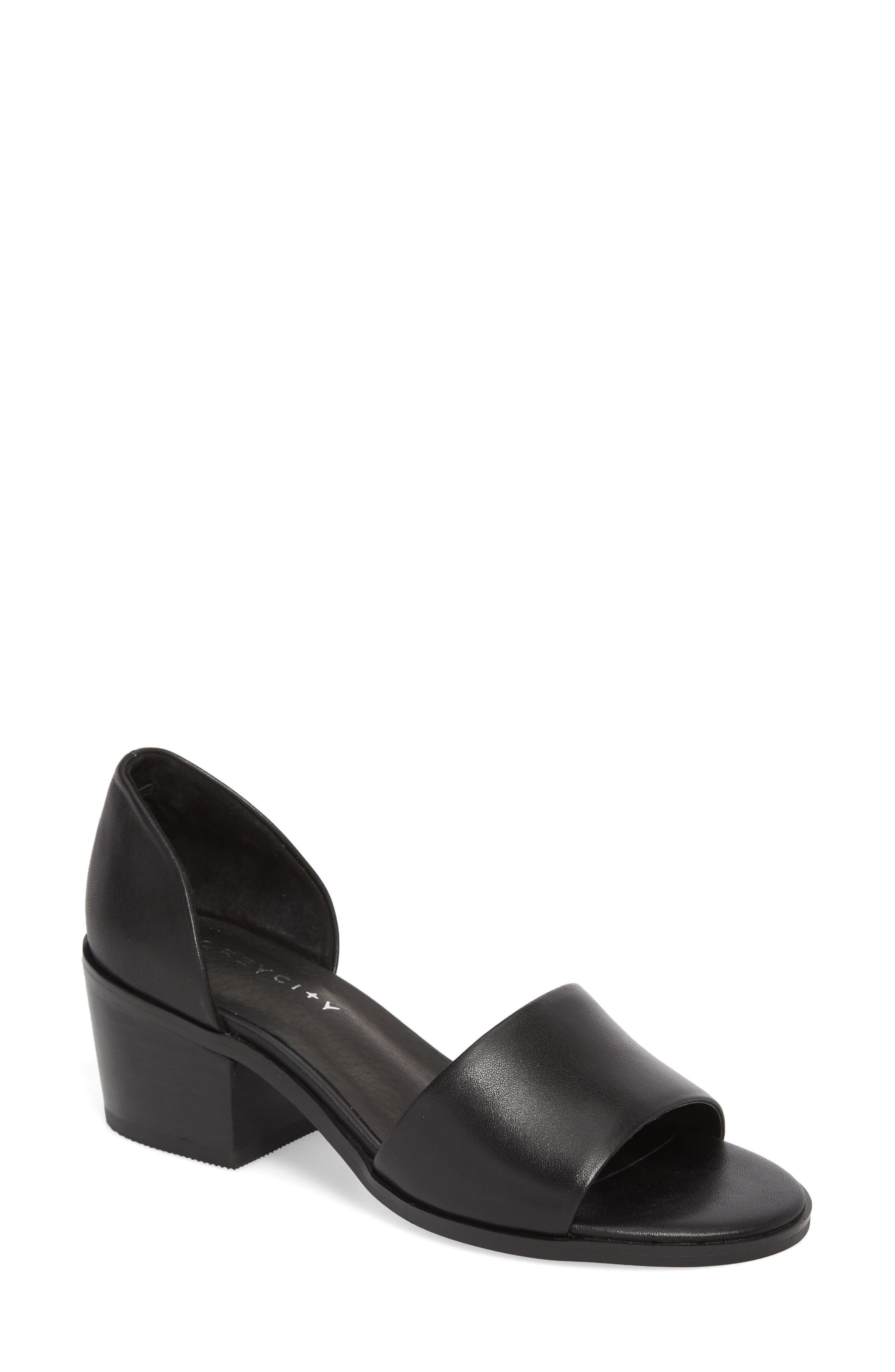 Ditty Sandal,                         Main,                         color, Black
