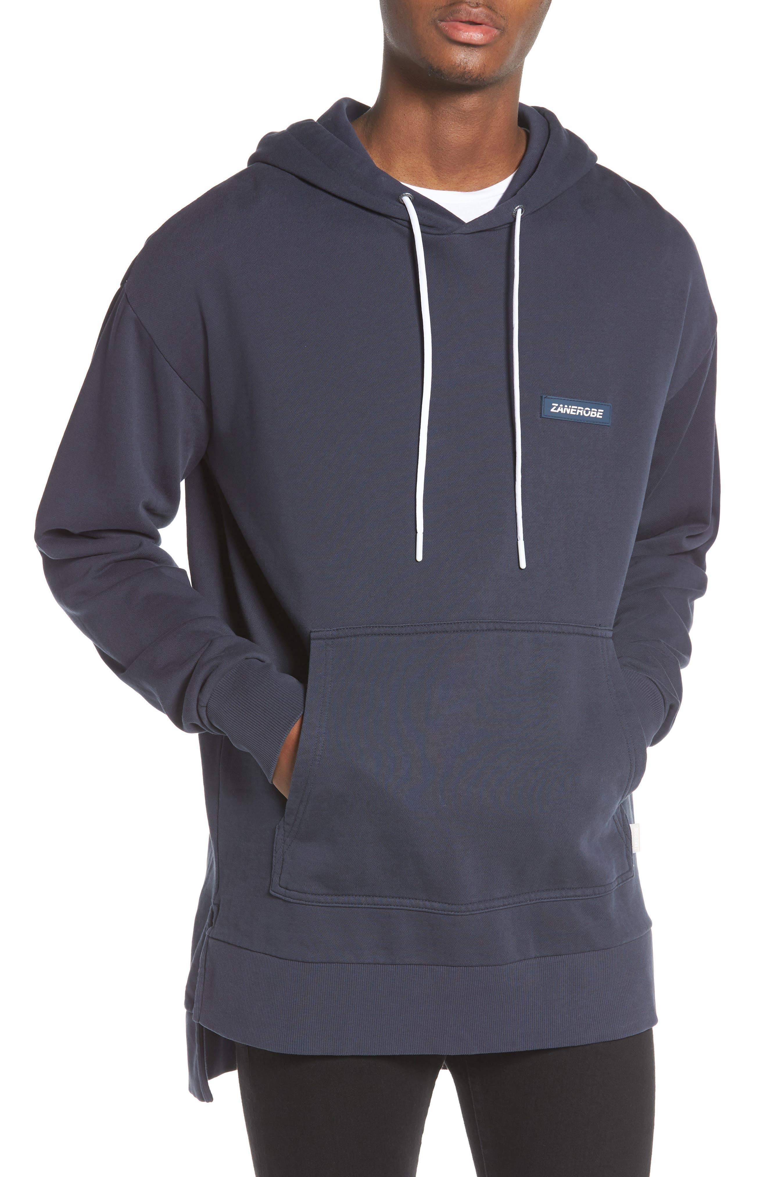 Brand Rugger Hooded Sweatshirt,                             Main thumbnail 1, color,                             Duke Blue