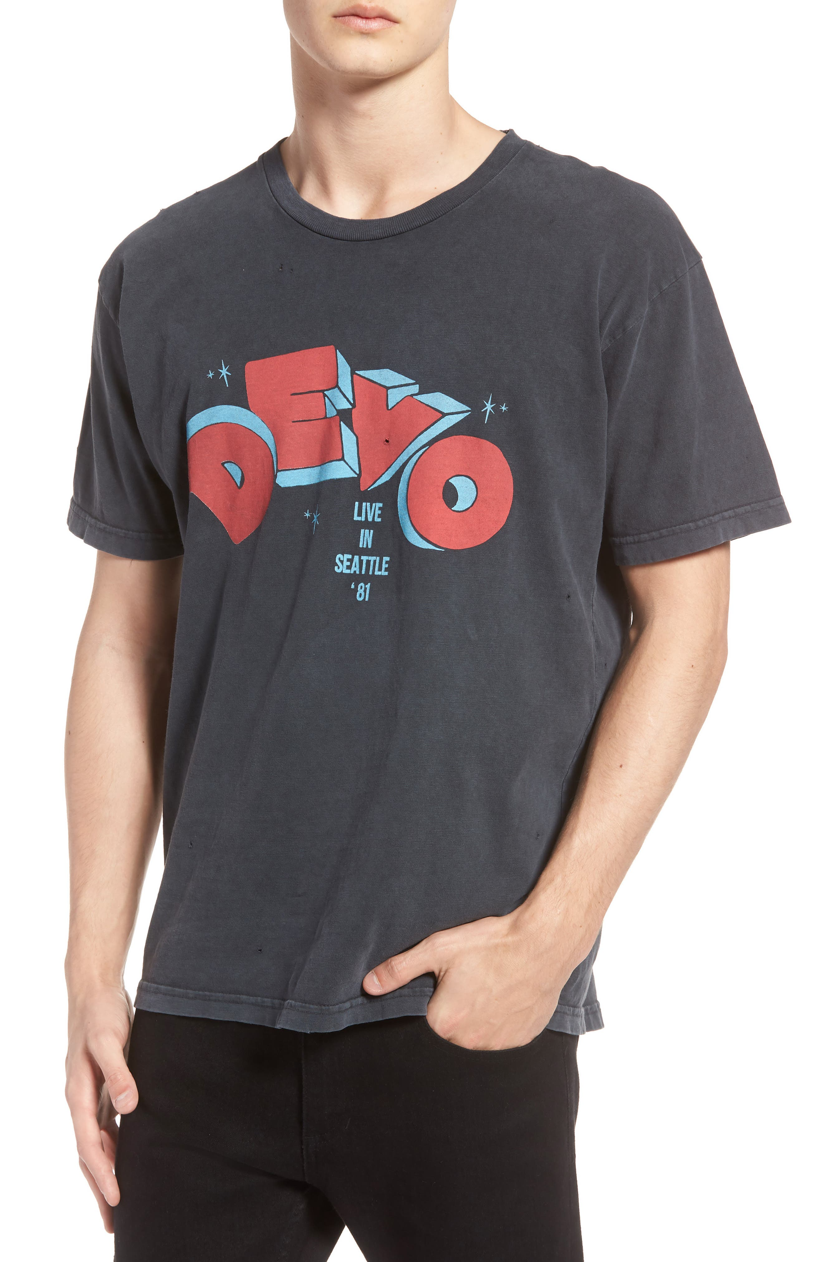 Original Retro Brand Devo Seattle T-Shirt