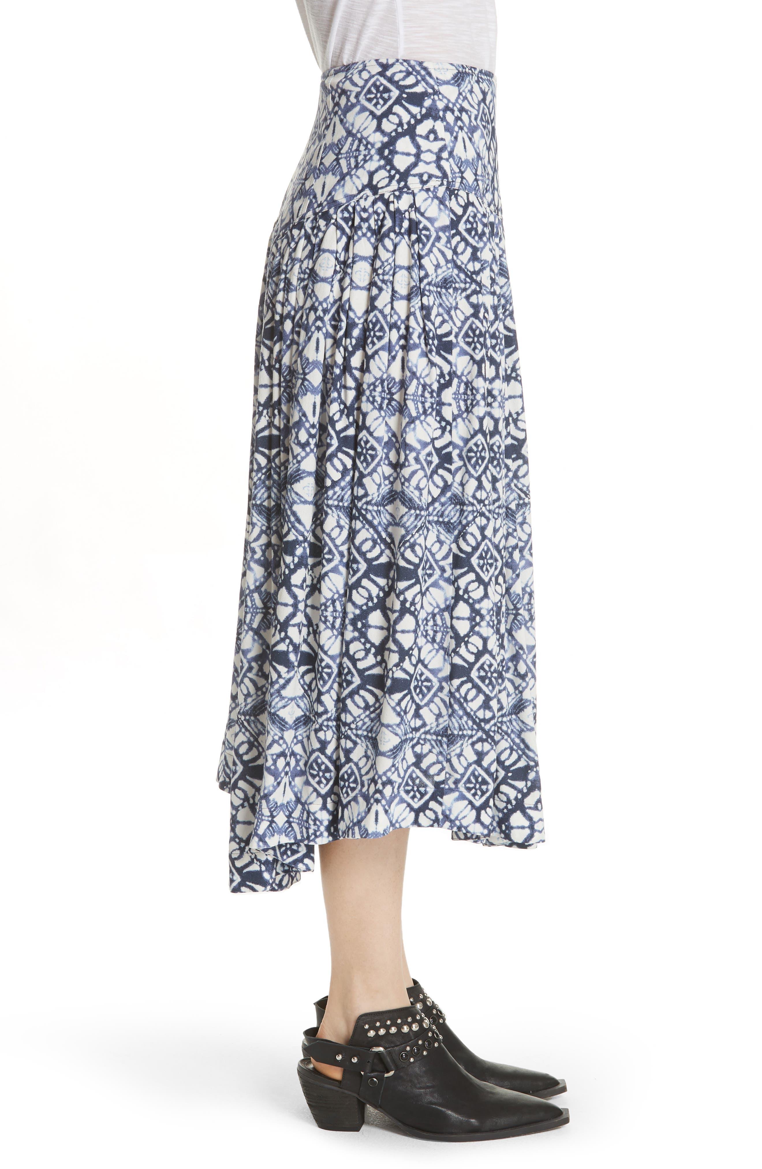 Lovers Dream Midi Skirt,                             Alternate thumbnail 3, color,                             Black