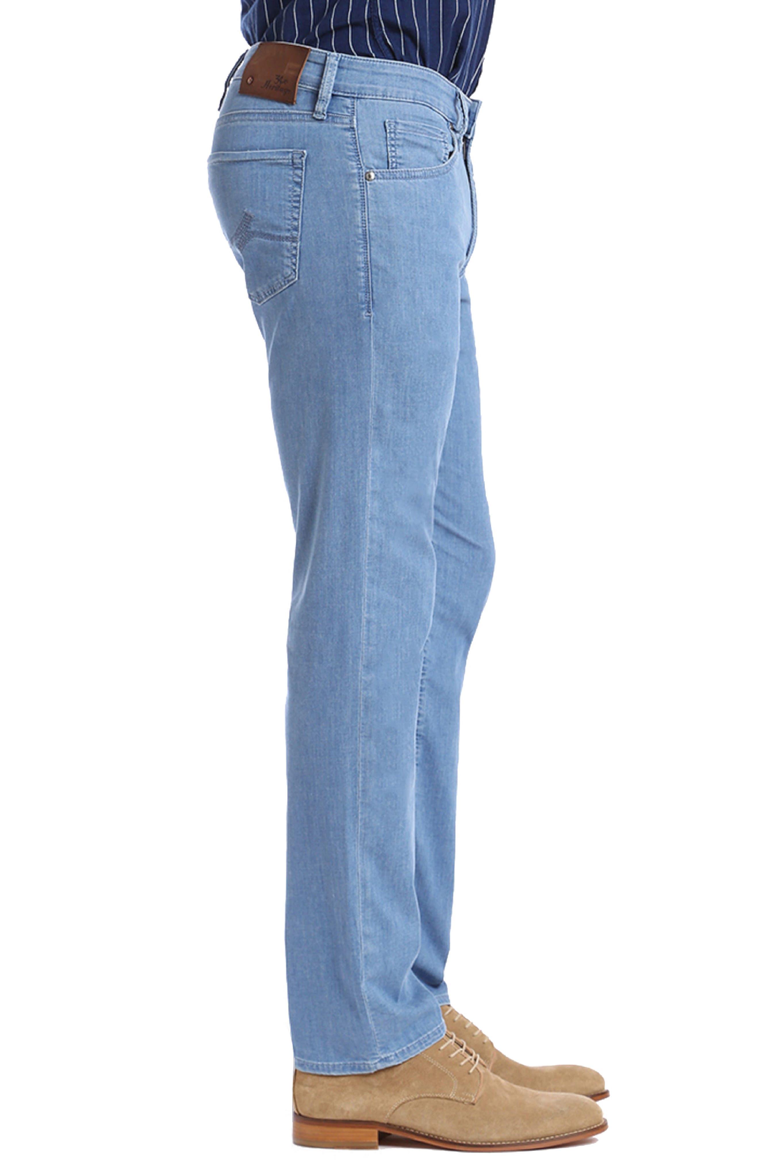 Charisma Relaxed Fit Jeans,                             Alternate thumbnail 3, color,                             Light Maui Denim