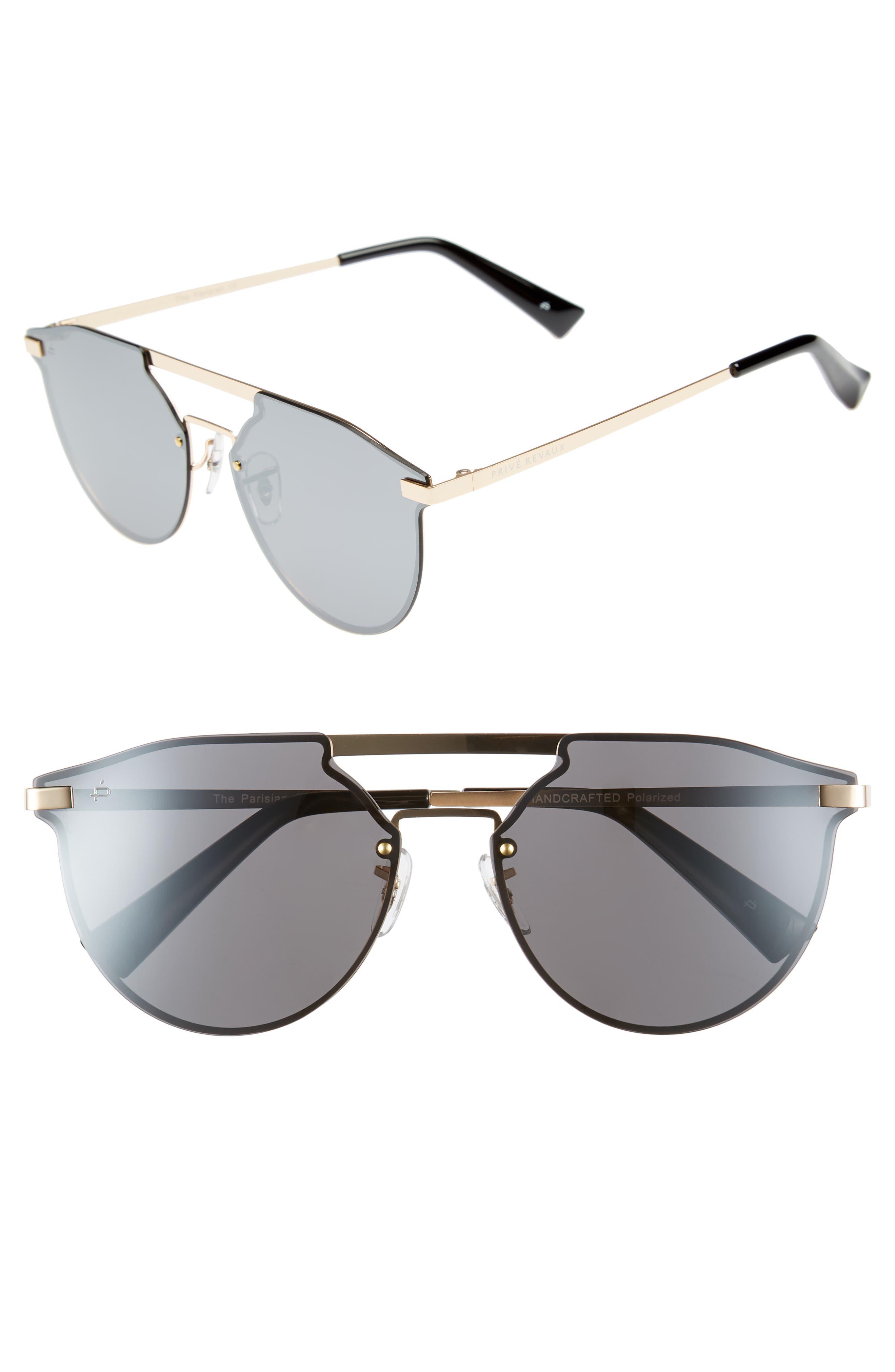 Main Image - Privé Revaux The Parisian 62mm Aviator Sunglasses