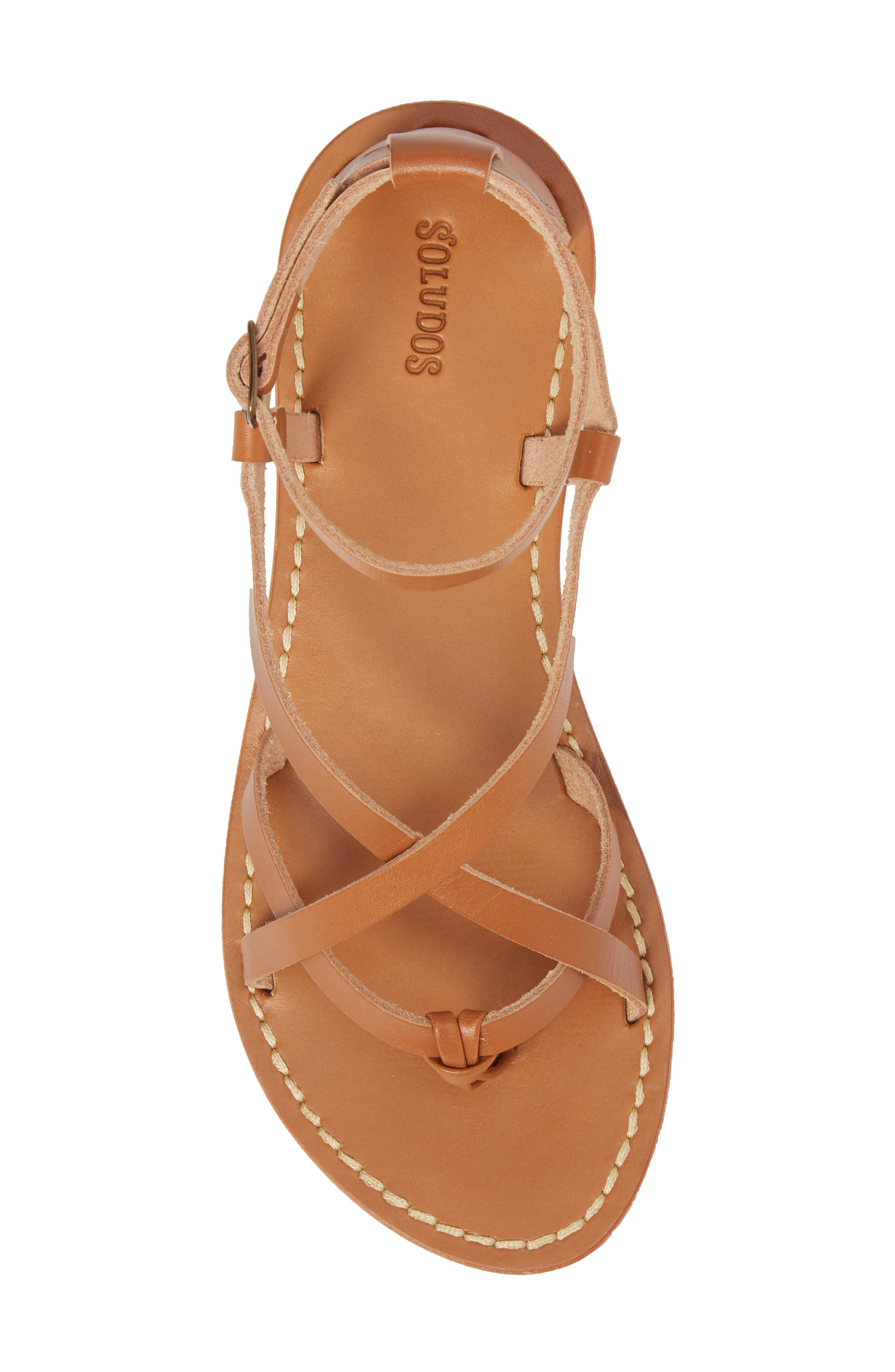 Strappy Sandal,                             Alternate thumbnail 5, color,                             Nude