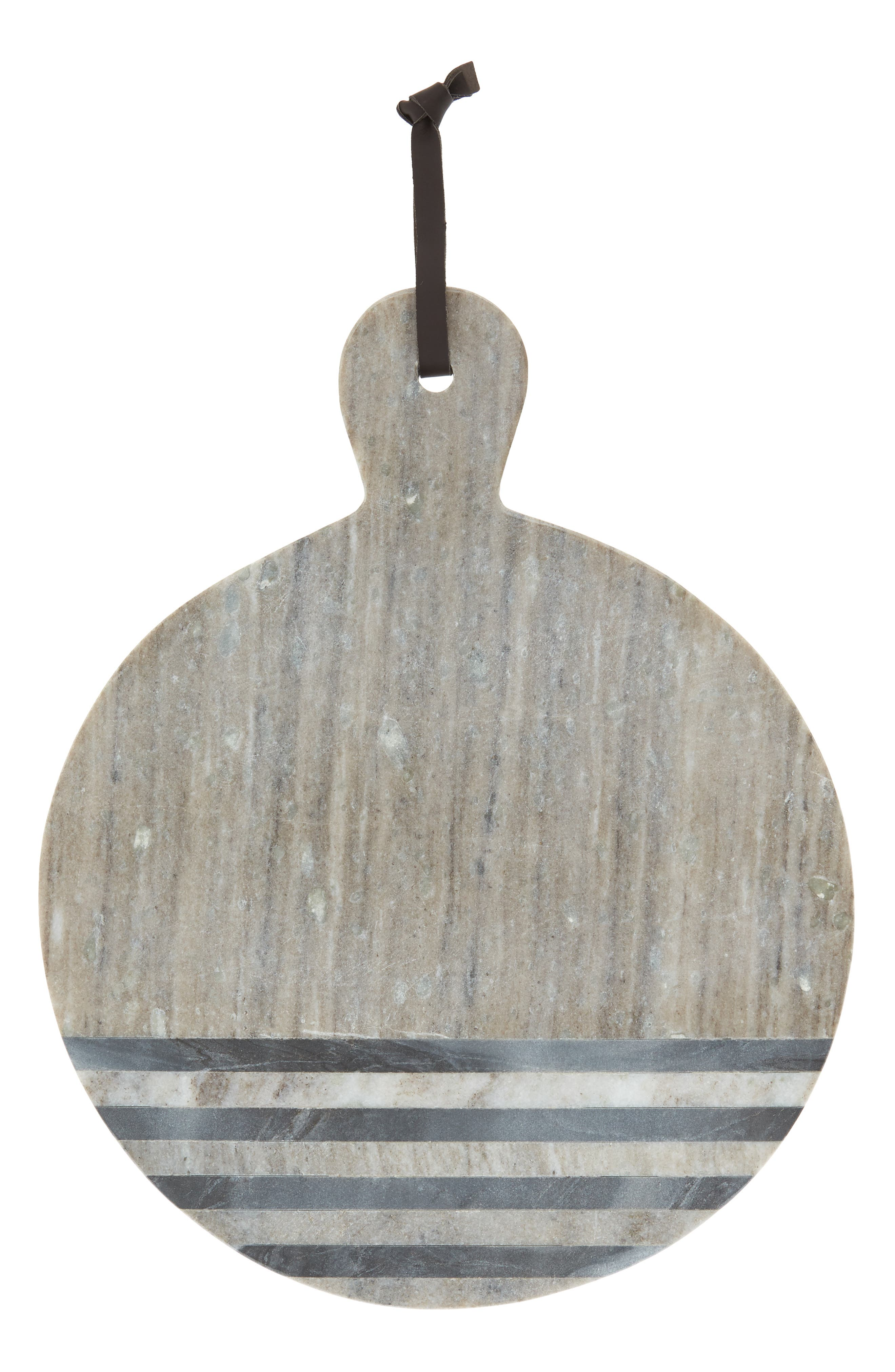 Nordstrom at Home Marble Stripe Round Cheese Board
