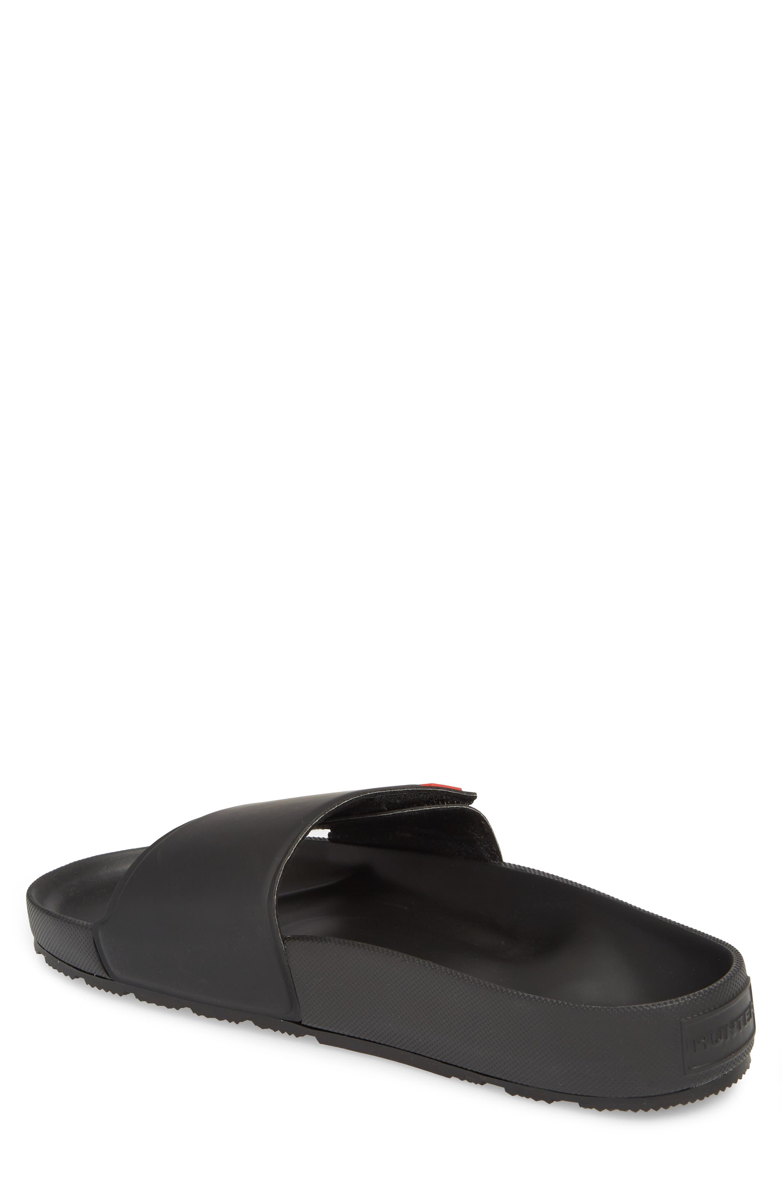 Original Adjustable Slide Sandal,                             Alternate thumbnail 2, color,                             Black