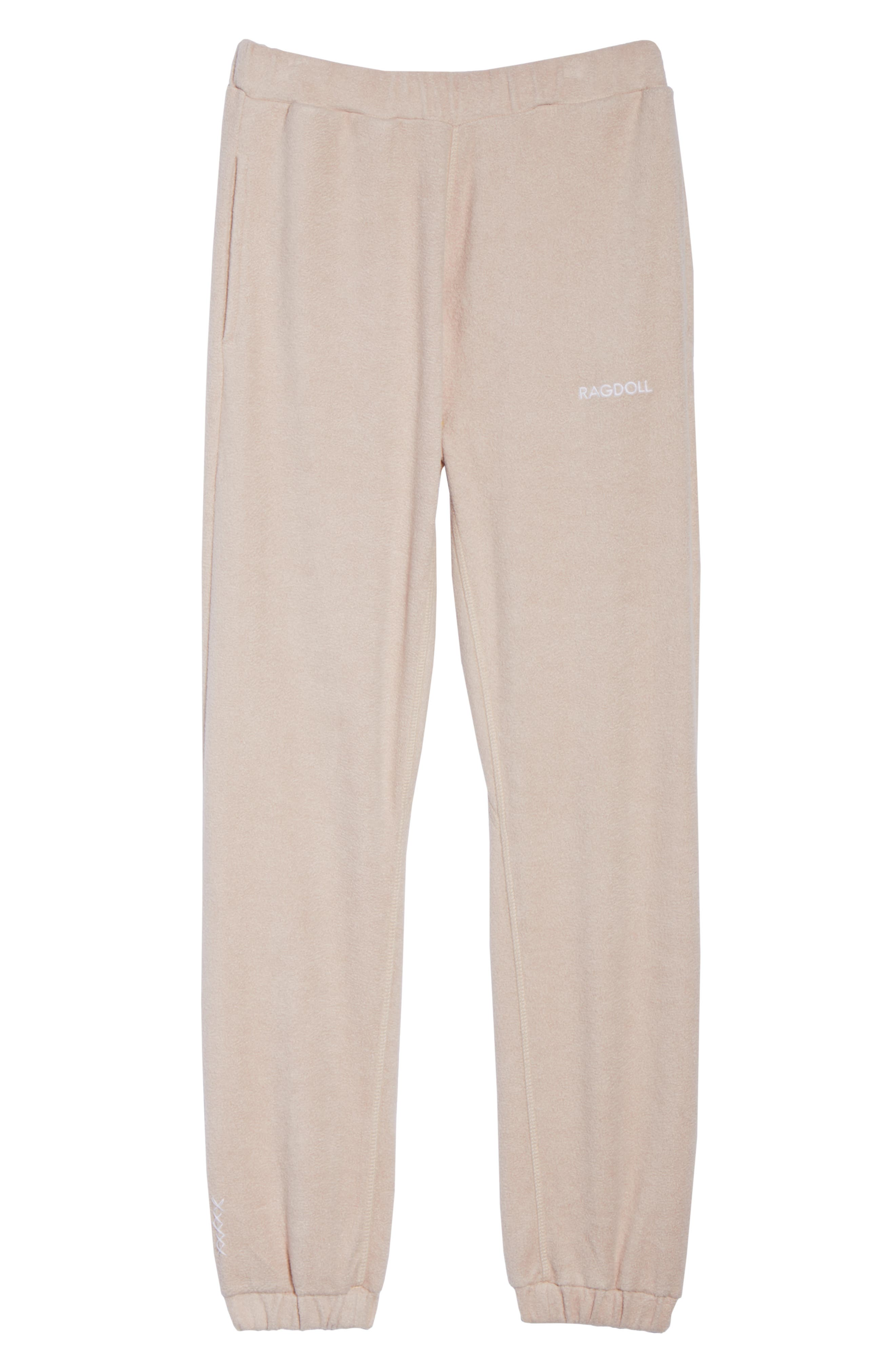 Lounge Pant,                             Alternate thumbnail 5, color,                             Dusty Pink