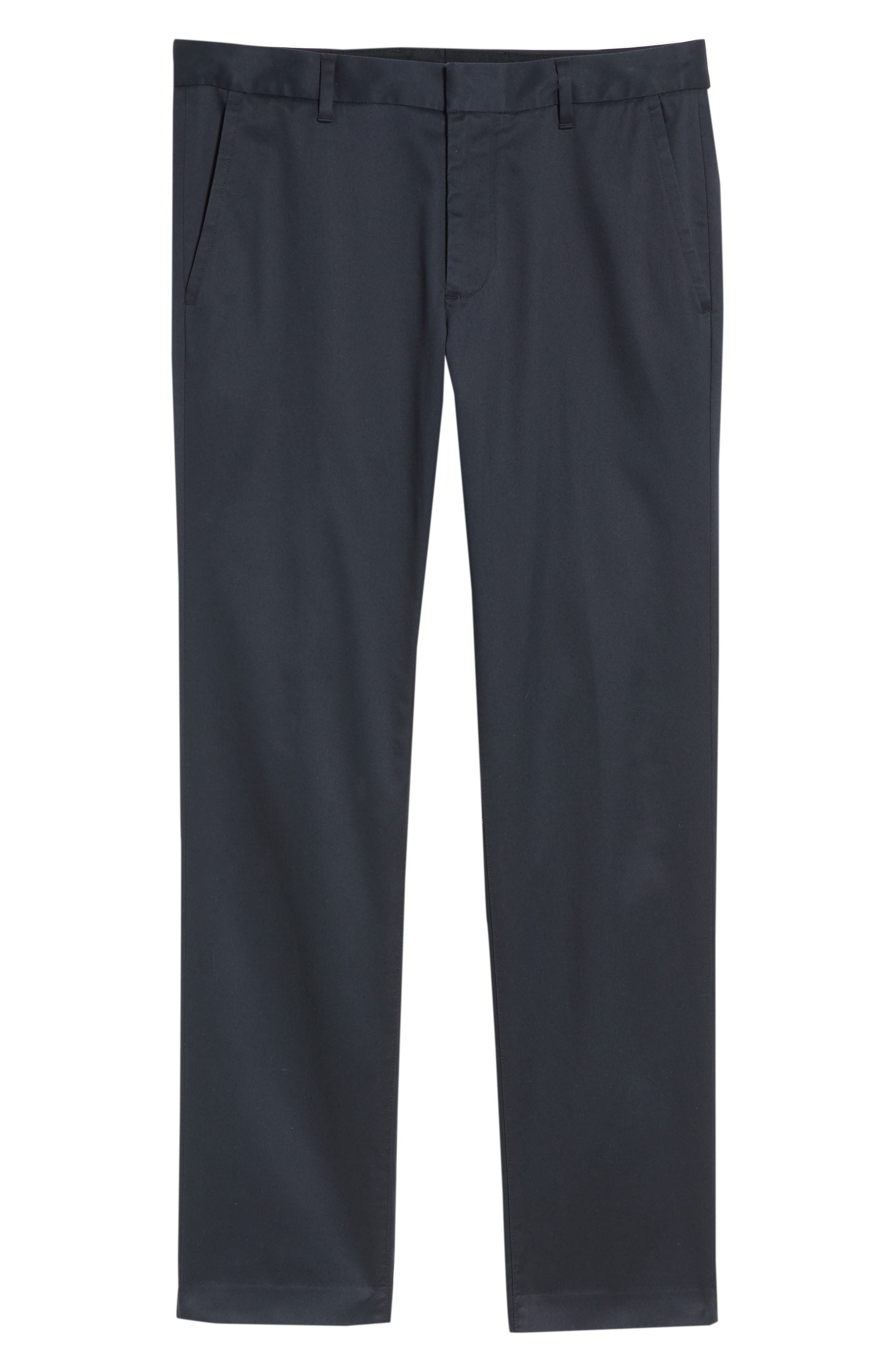 Weekday Warrior Slim Fit Stretch Pants,                             Alternate thumbnail 6, color,                             Monday Blues