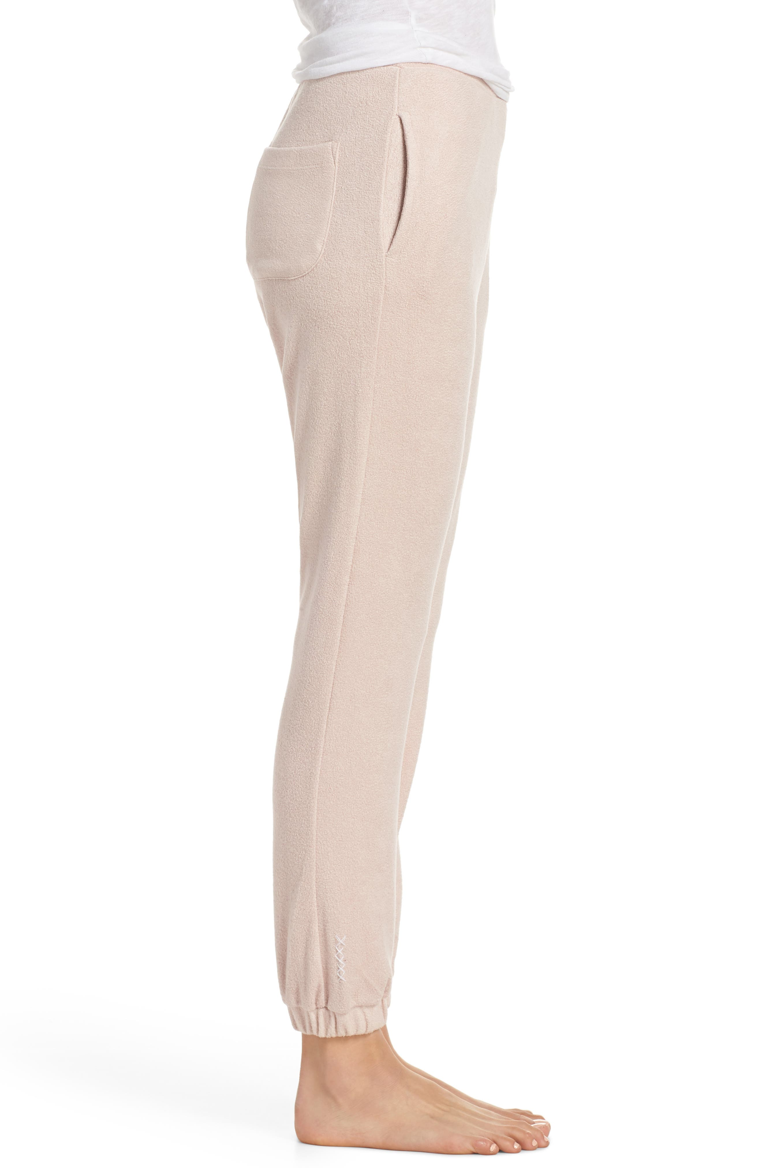 Lounge Pant,                             Alternate thumbnail 3, color,                             Dusty Pink