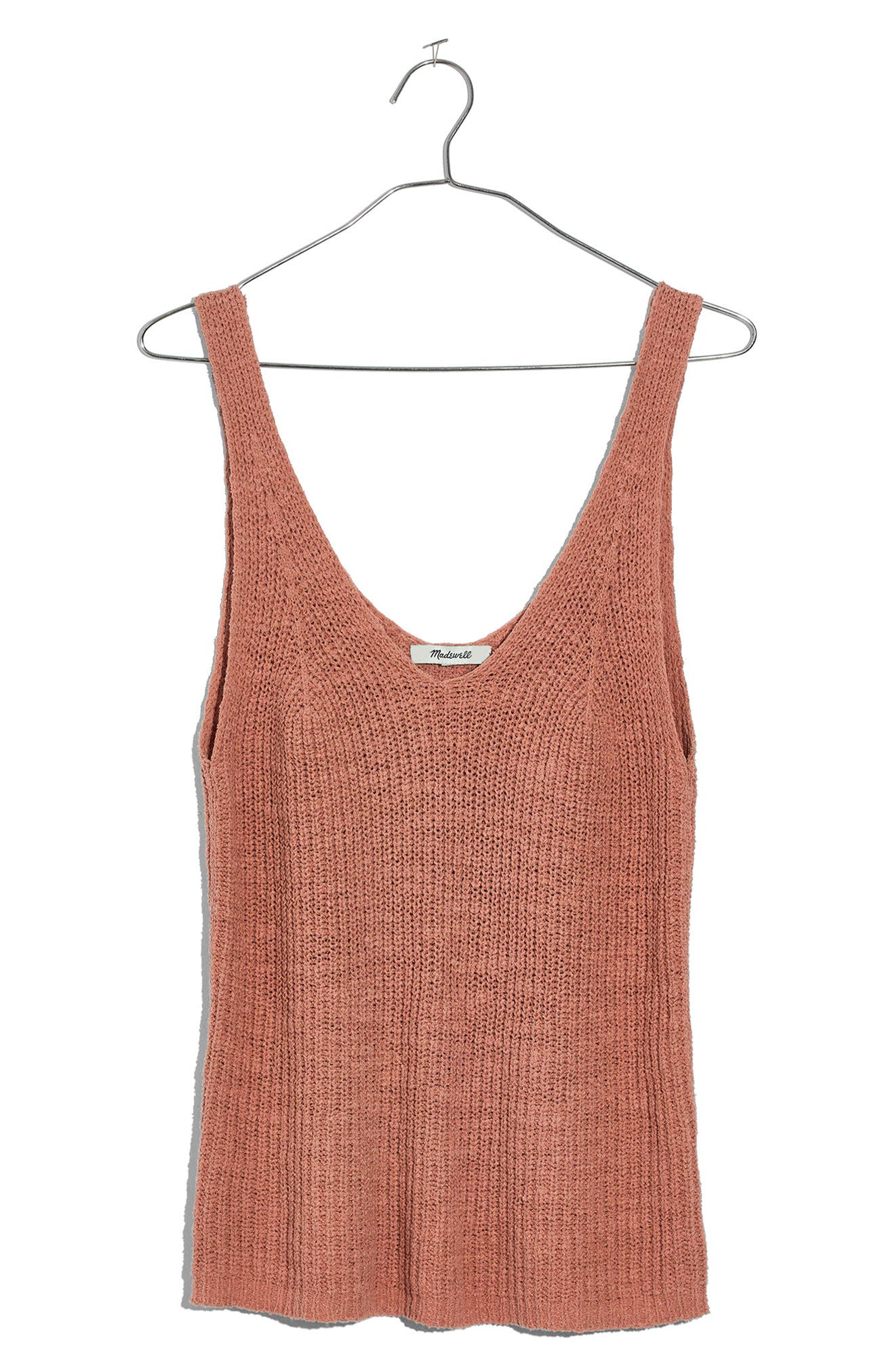 Monterey Sweater Tank,                         Main,                         color, Antique Coral