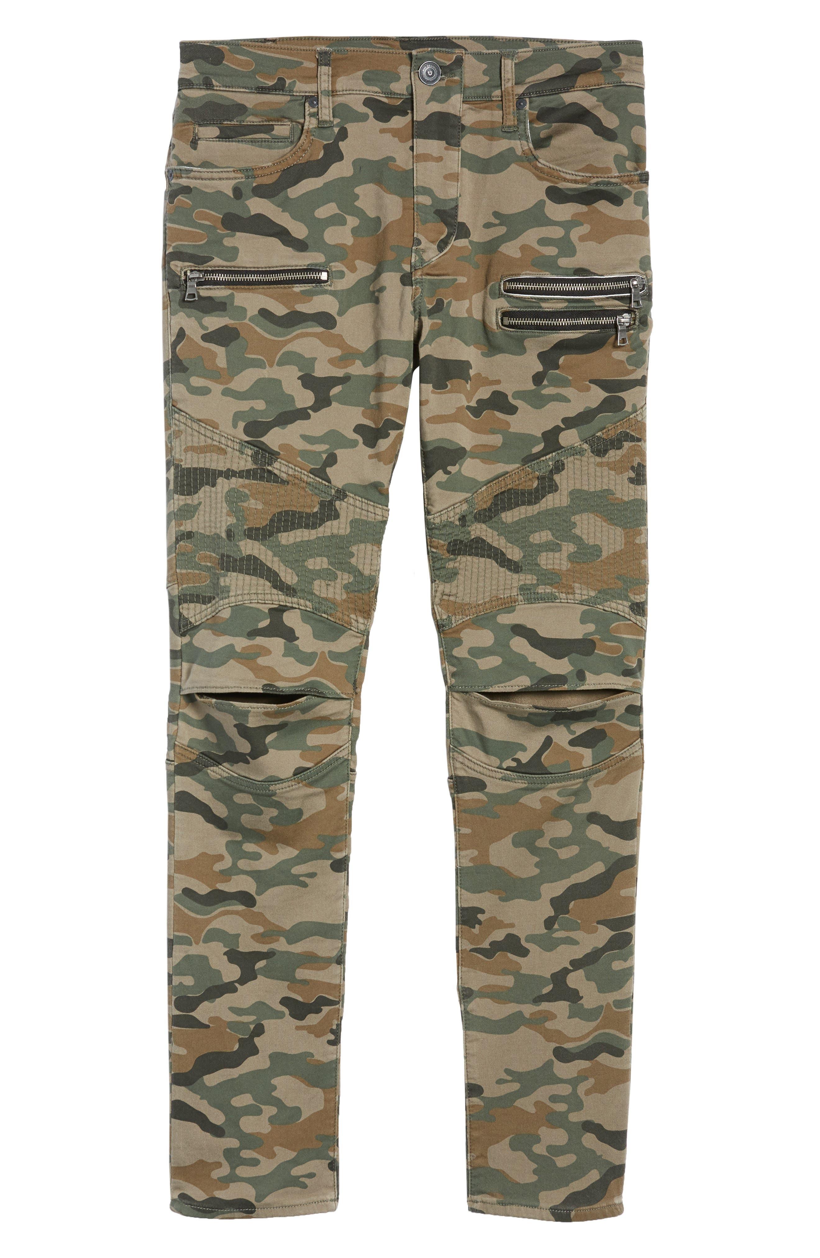 Drift Straight Leg Camo Pants,                             Alternate thumbnail 6, color,                             Camo Print