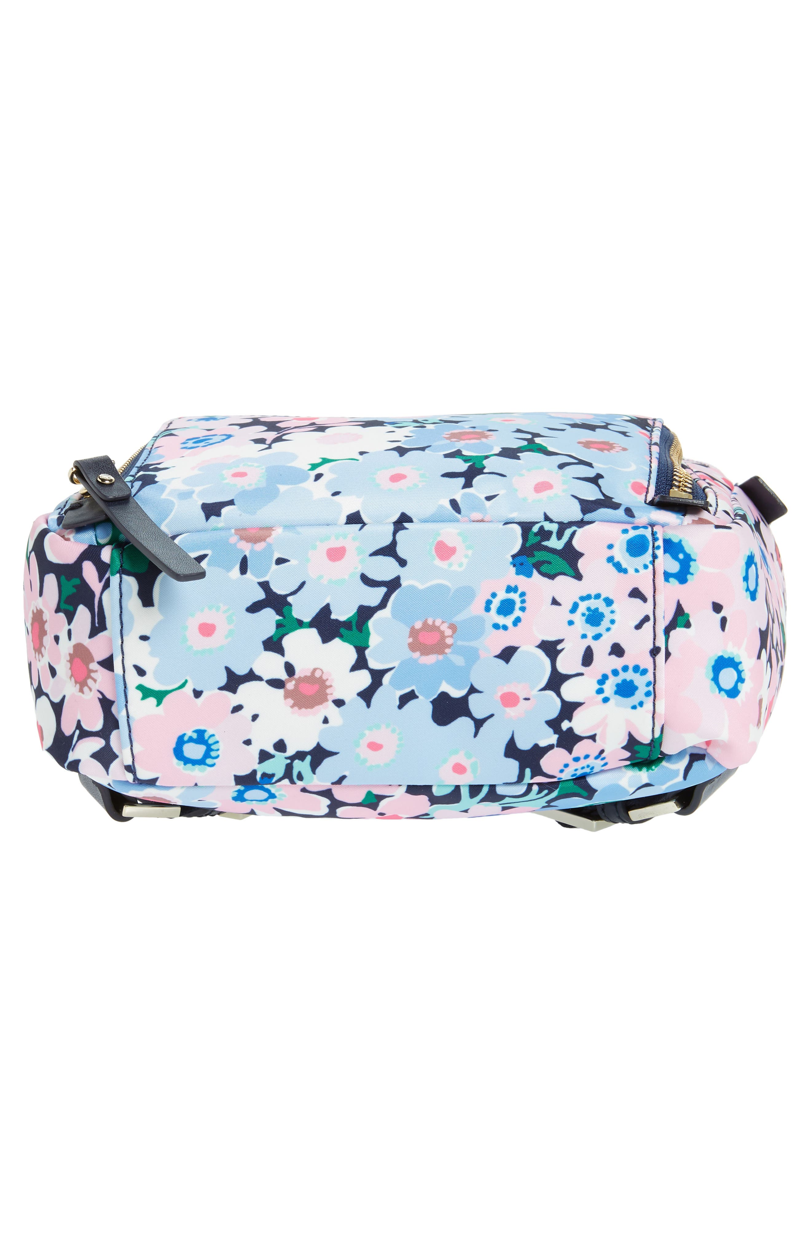 watson lane - daisy garden small hartley backpack,                             Alternate thumbnail 6, color,                             Blue Multi