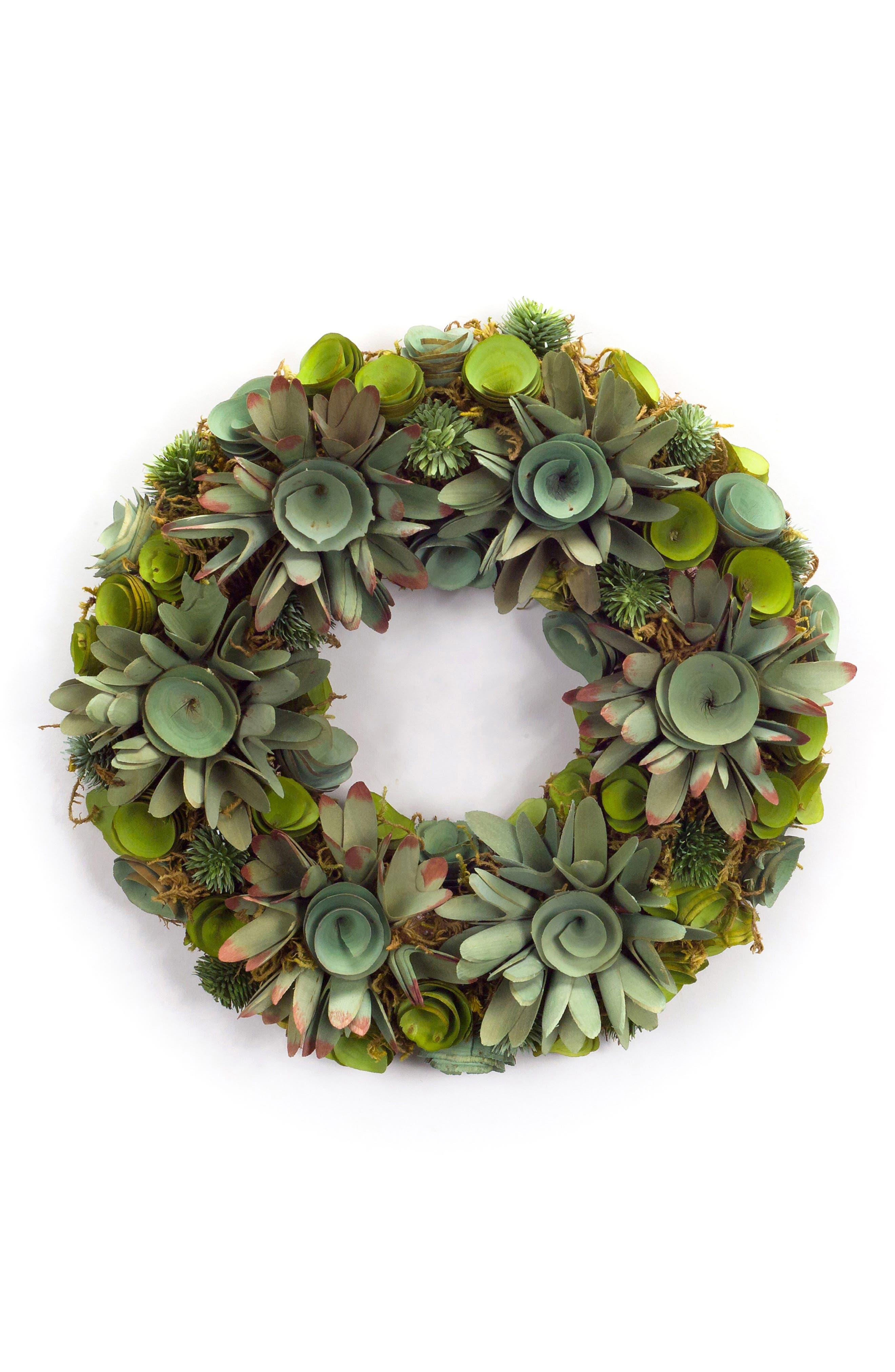 Melrose Gifts Succulent Wreath