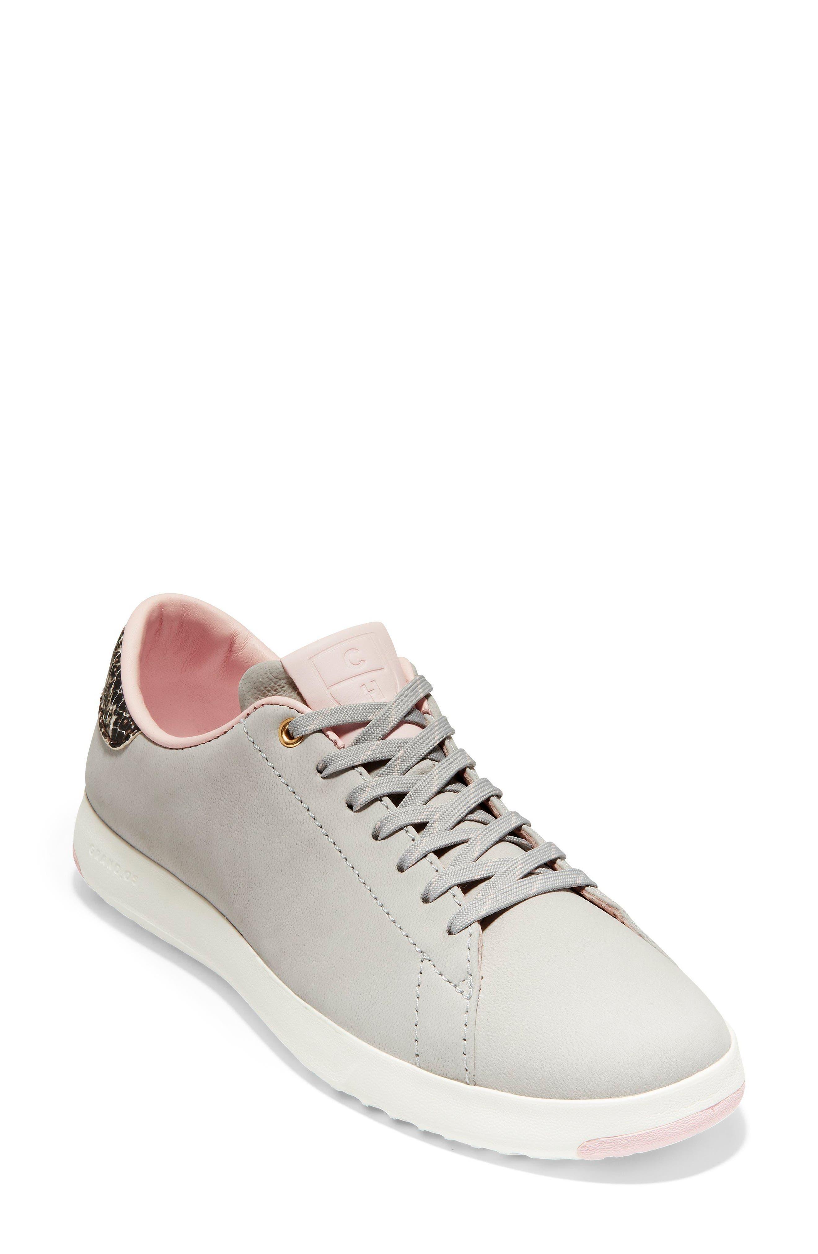 GrandPro Tennis Shoe,                             Main thumbnail 1, color,                             Vapor Grey Nubuck