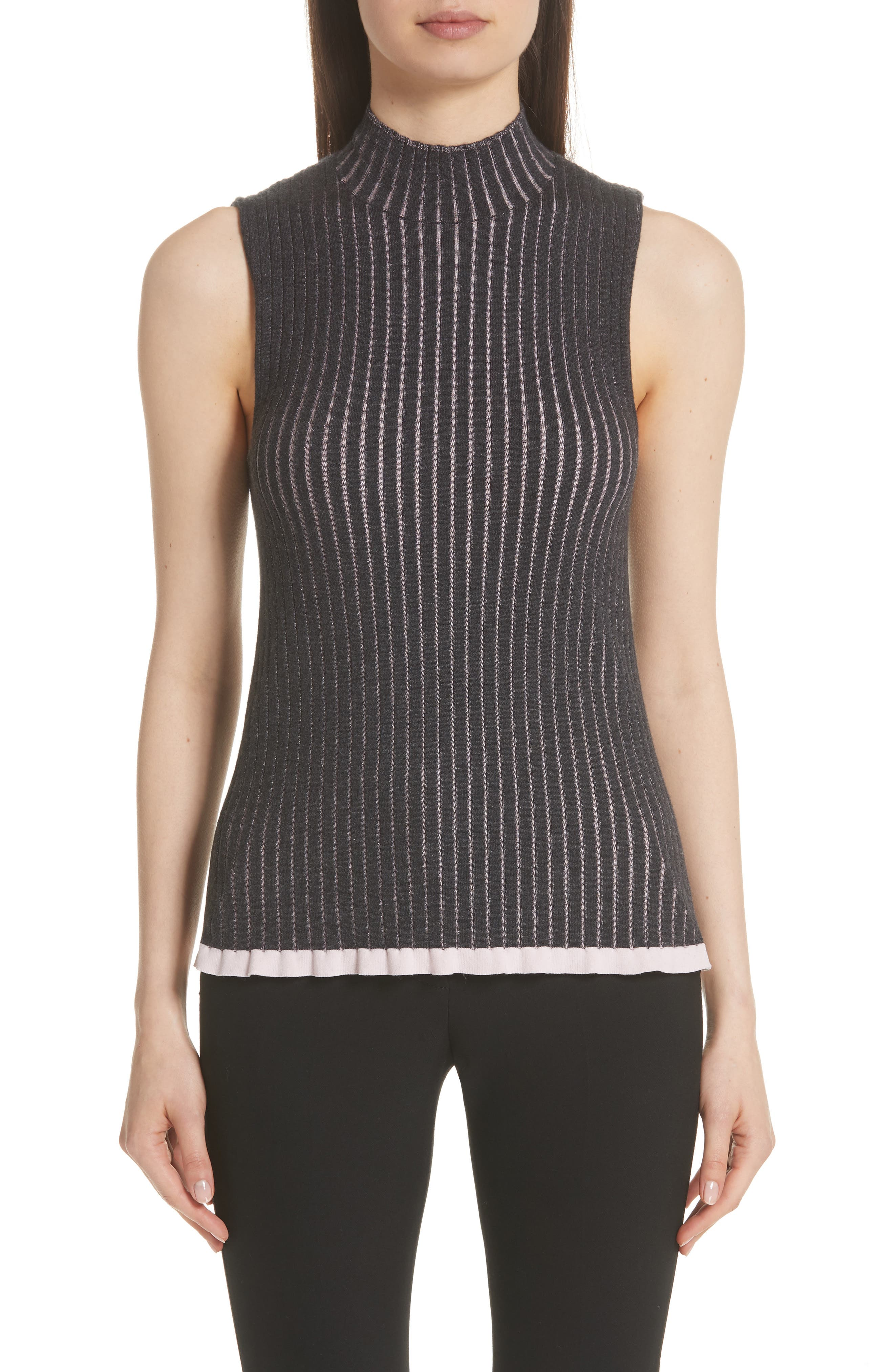 Burberry Tensleep Cashmere & Silk Tank Top