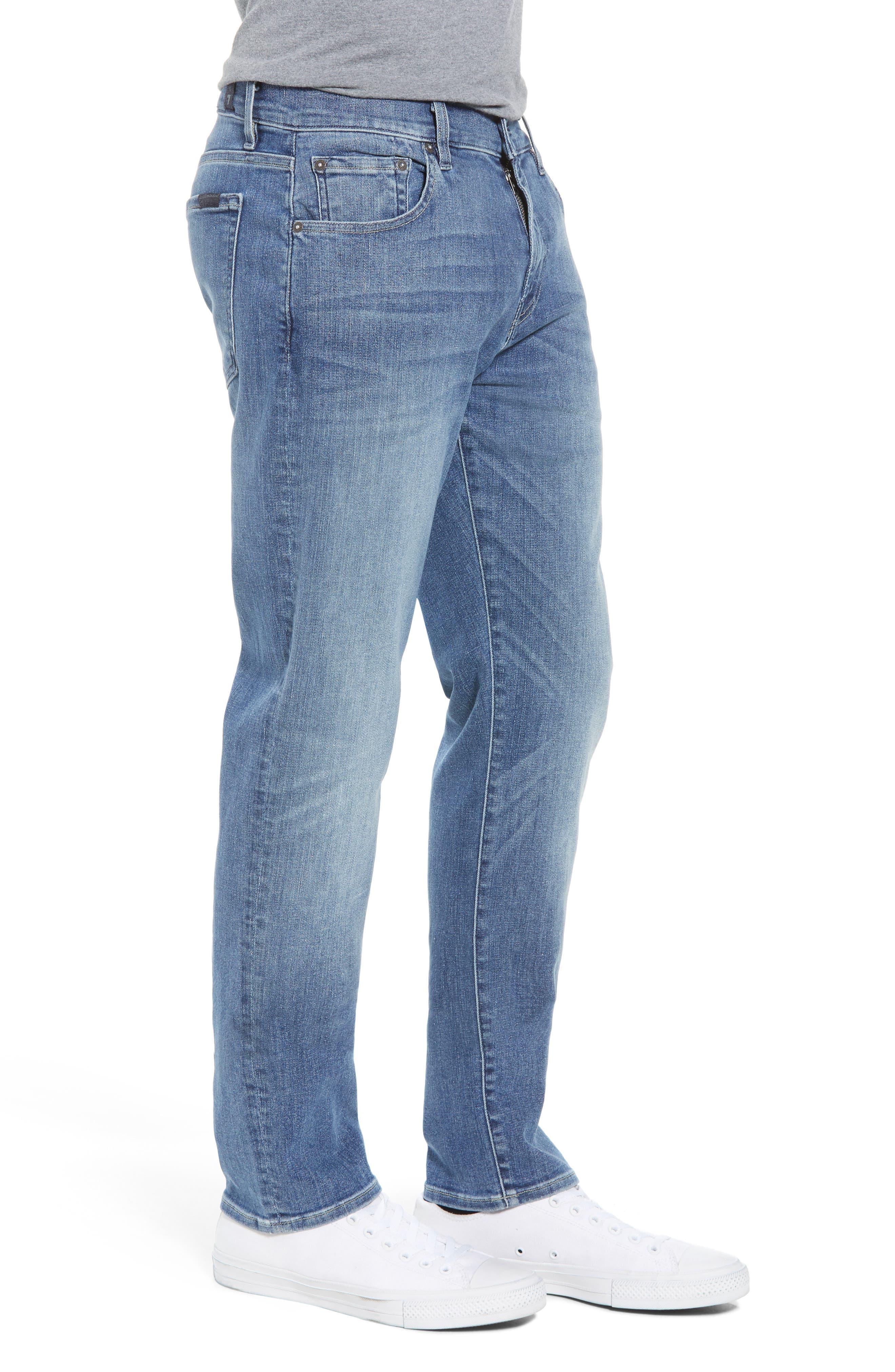Adrien Slim Fit Jeans,                             Alternate thumbnail 3, color,                             Vortex