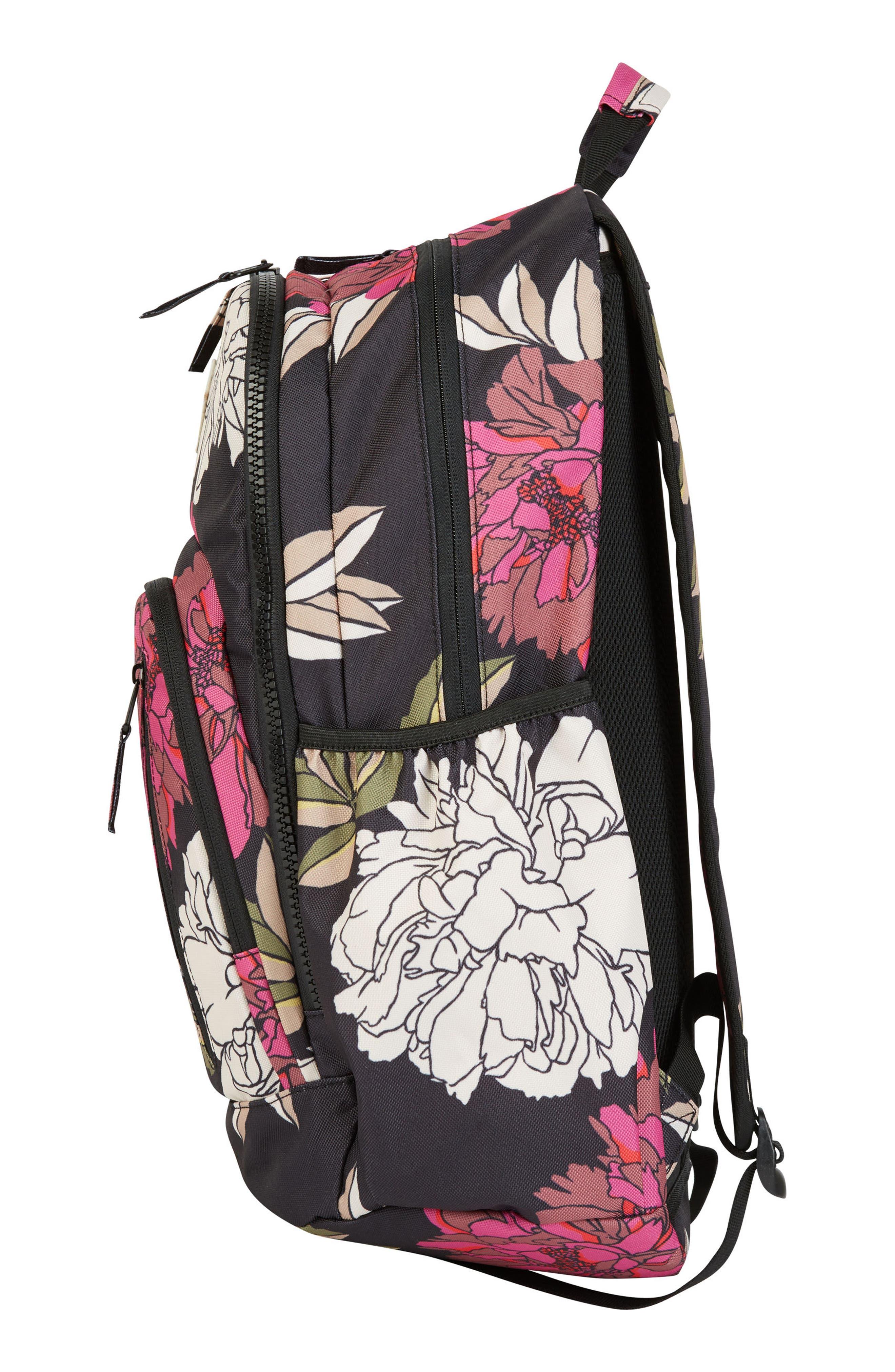 Roadie Backpack,                             Alternate thumbnail 3, color,                             Rebel Pink