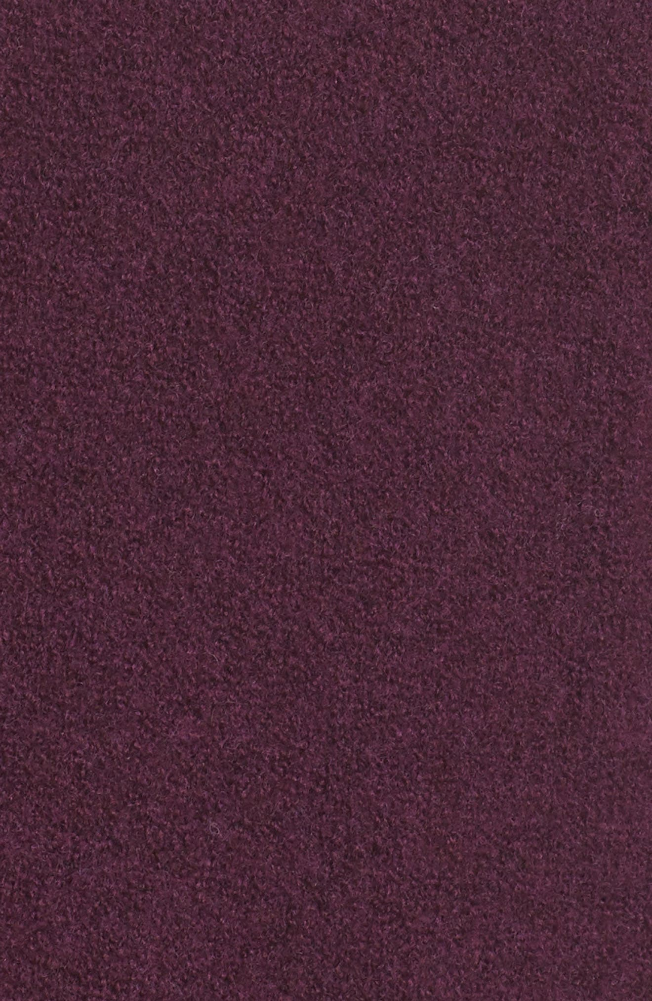 Hooded Cardigan,                             Alternate thumbnail 6, color,                             Purple Potent