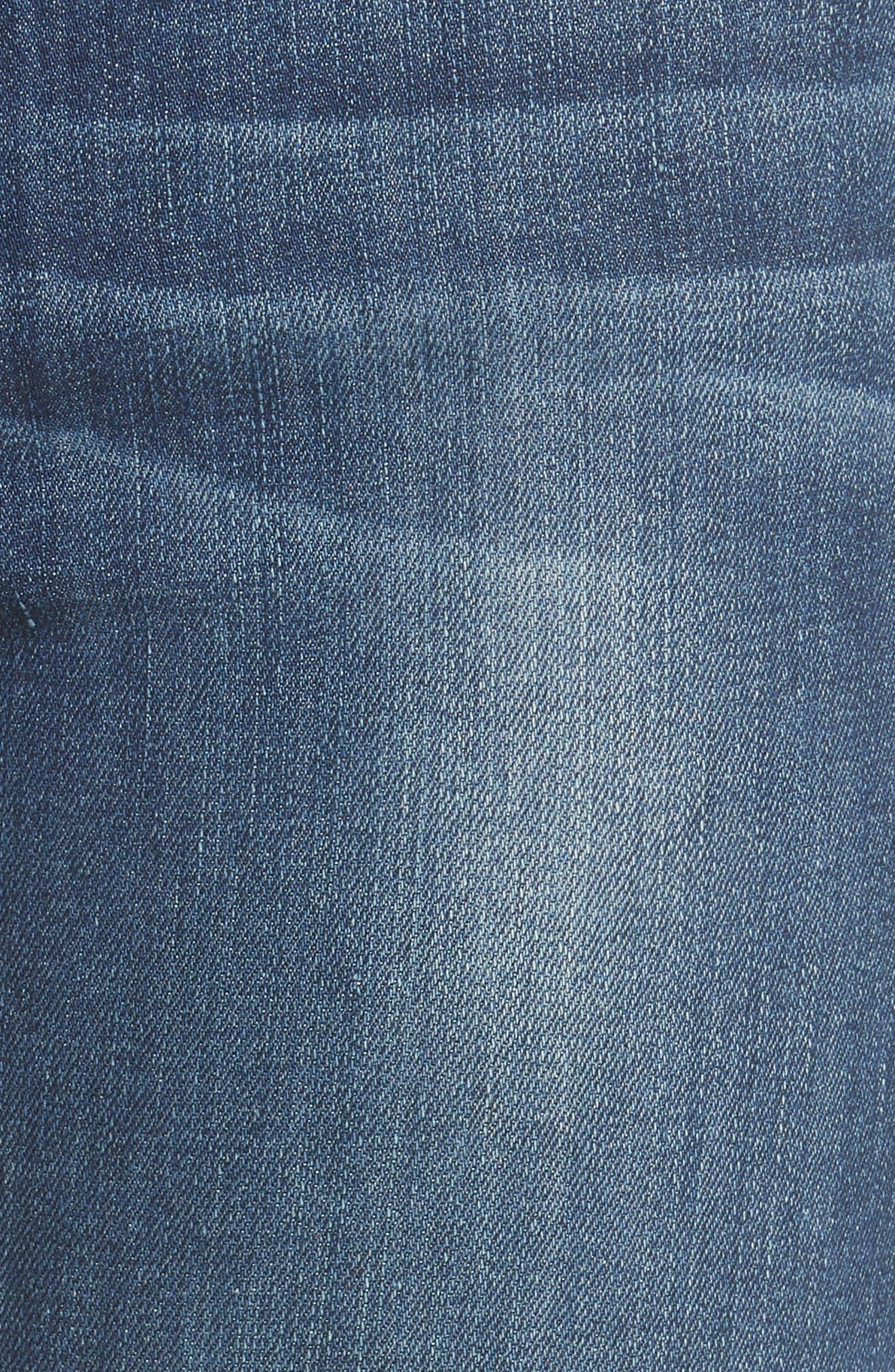 Le High Straight Leg Jeans,                             Alternate thumbnail 5, color,                             York