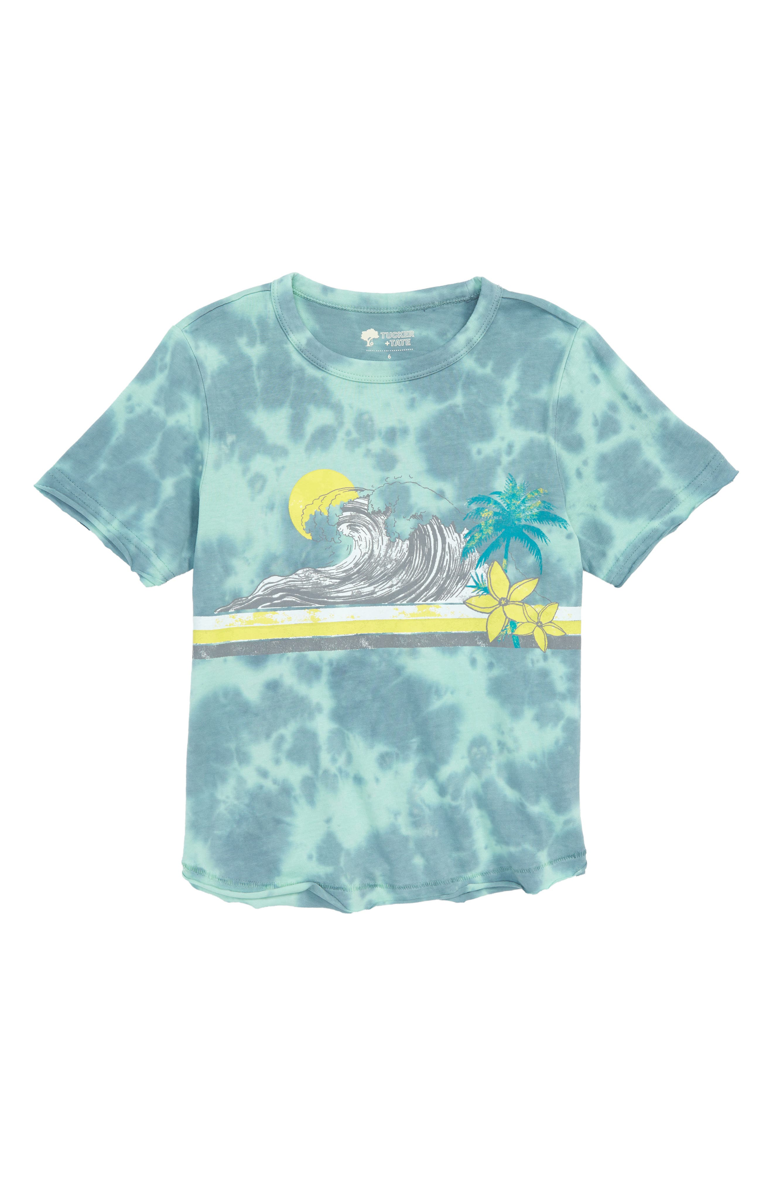 Tucker + Tate Washed Graphic T-Shirt (Toddler Boys & Little Boys)
