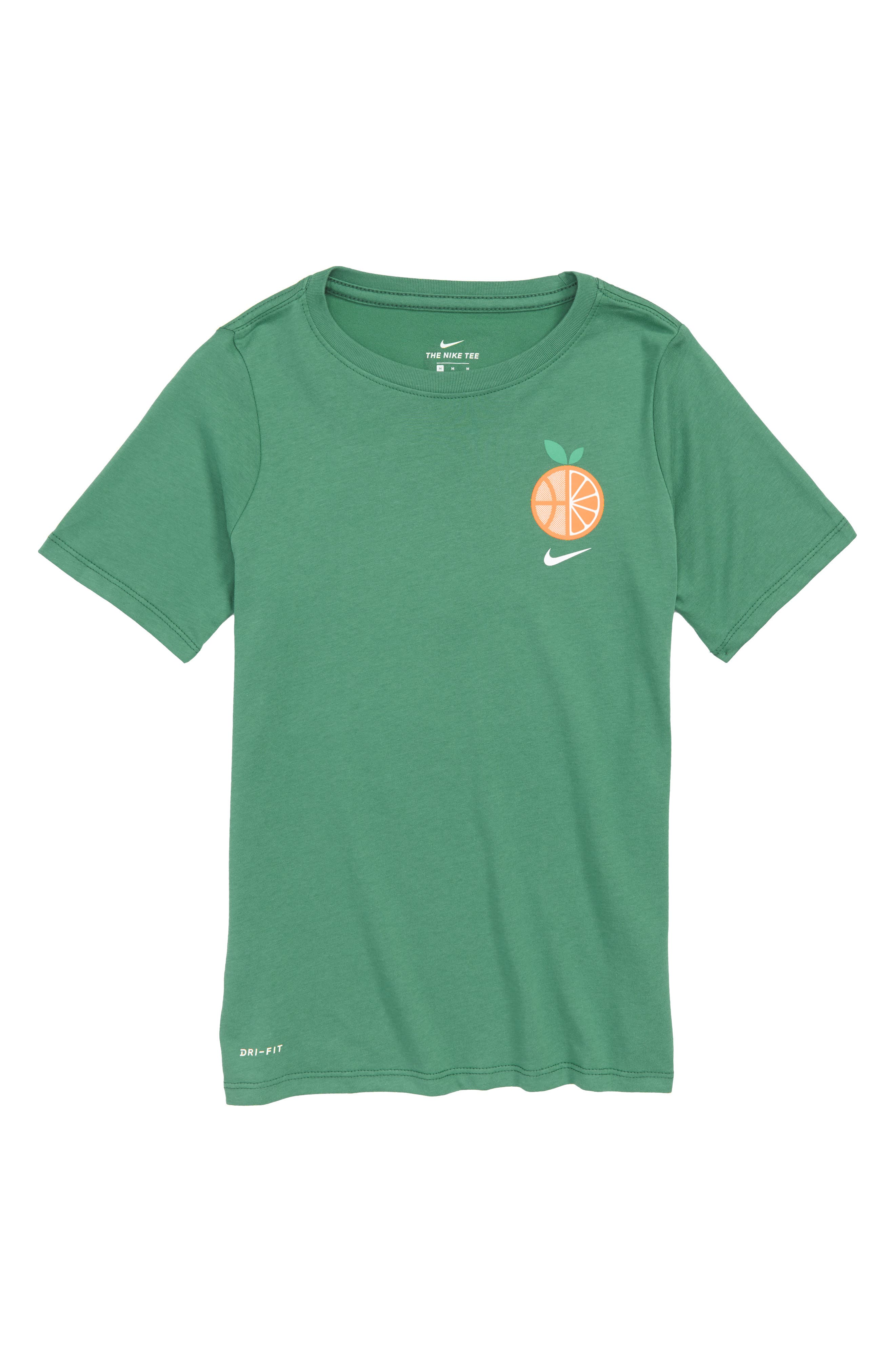 Dry Game So Fresh Graphic T-Shirt,                             Main thumbnail 1, color,                             Green Noise